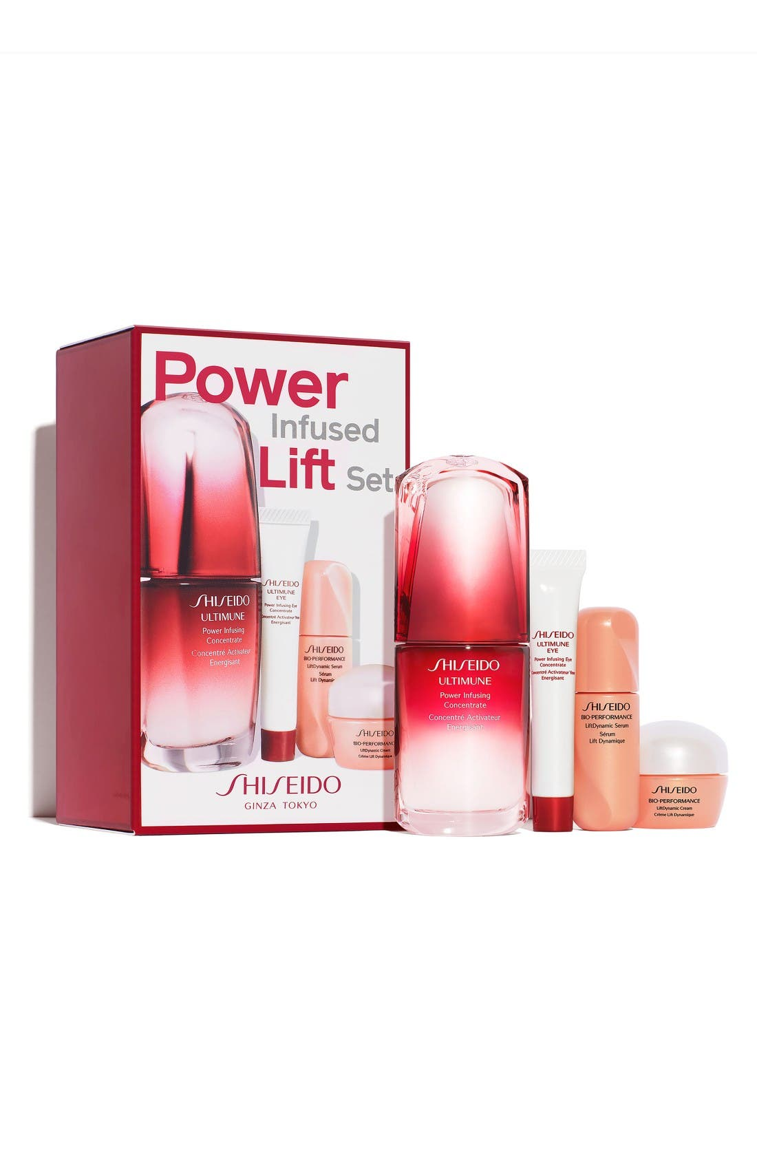 Main Image - Shiseido Power Infused Lift Set (Limited Edition) ($134 Value)