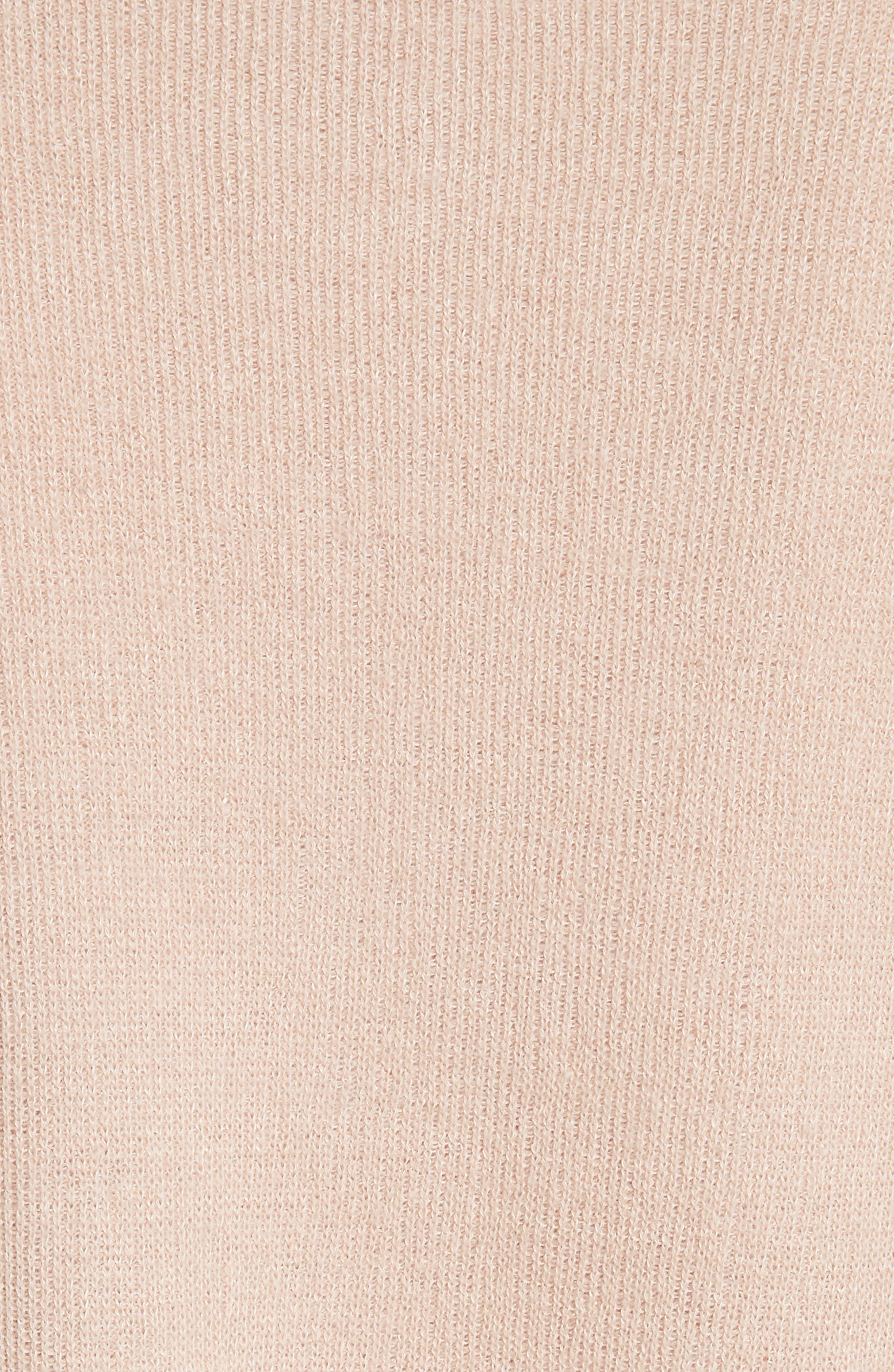 Alternate Image 5  - Vince Boxy Cashmere & Linen Pullover