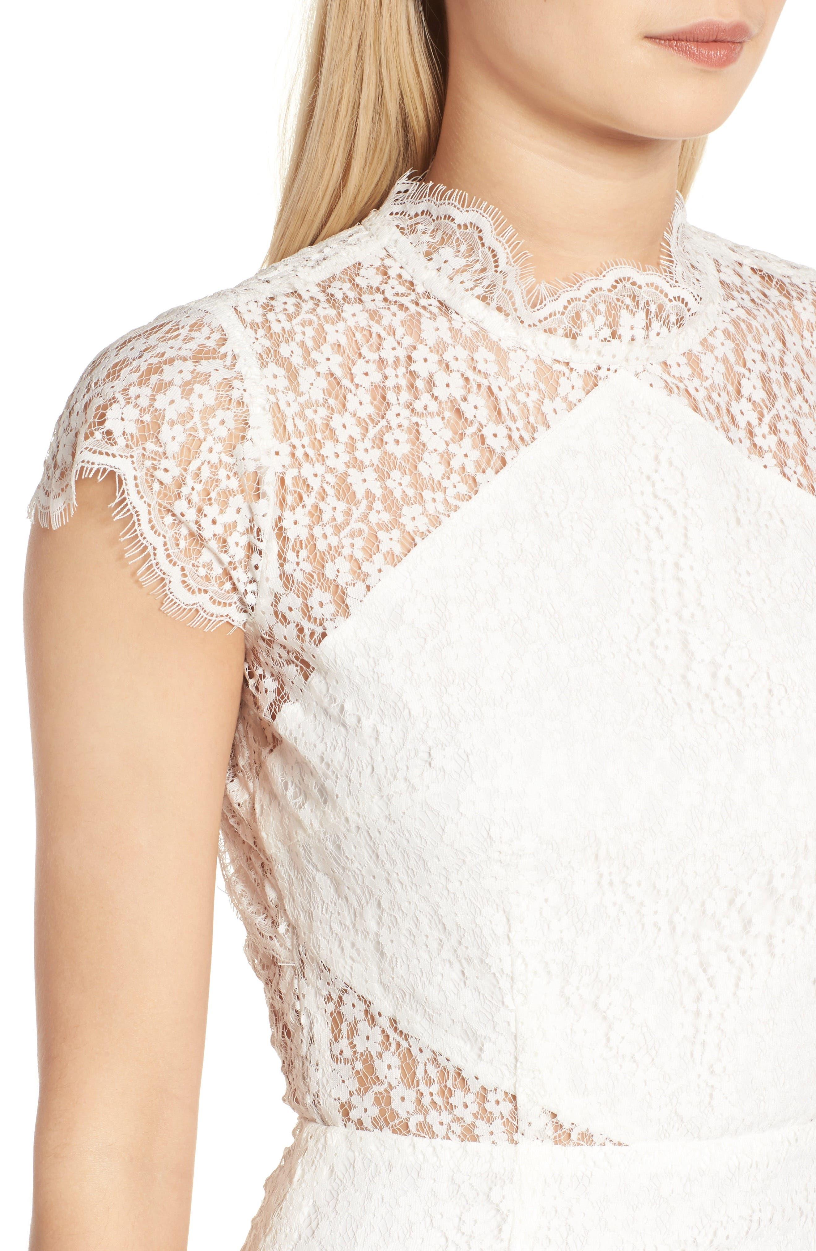Alternate Image 5  - Keepsake the Label Daydream Lace Minidress