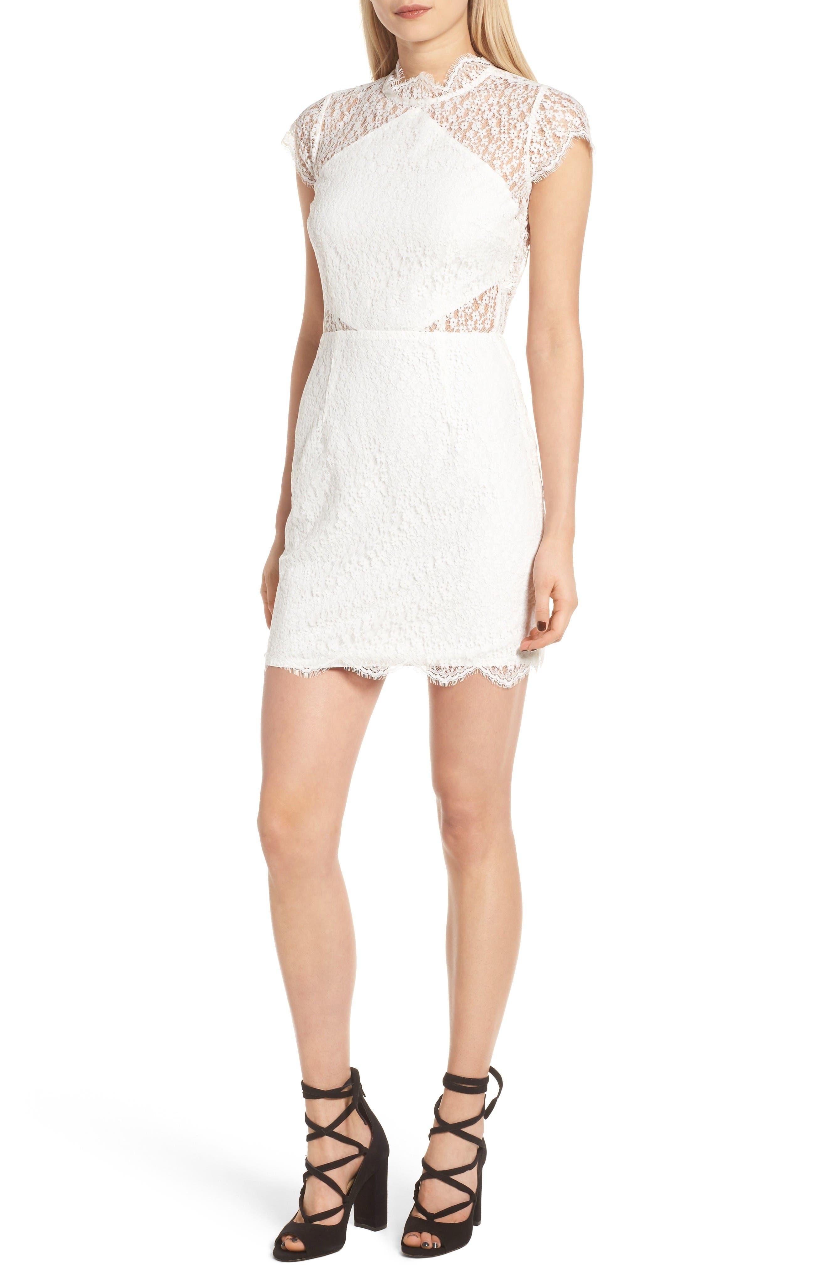 Alternate Image 1 Selected - Keepsake the Label Daydream Lace Minidress