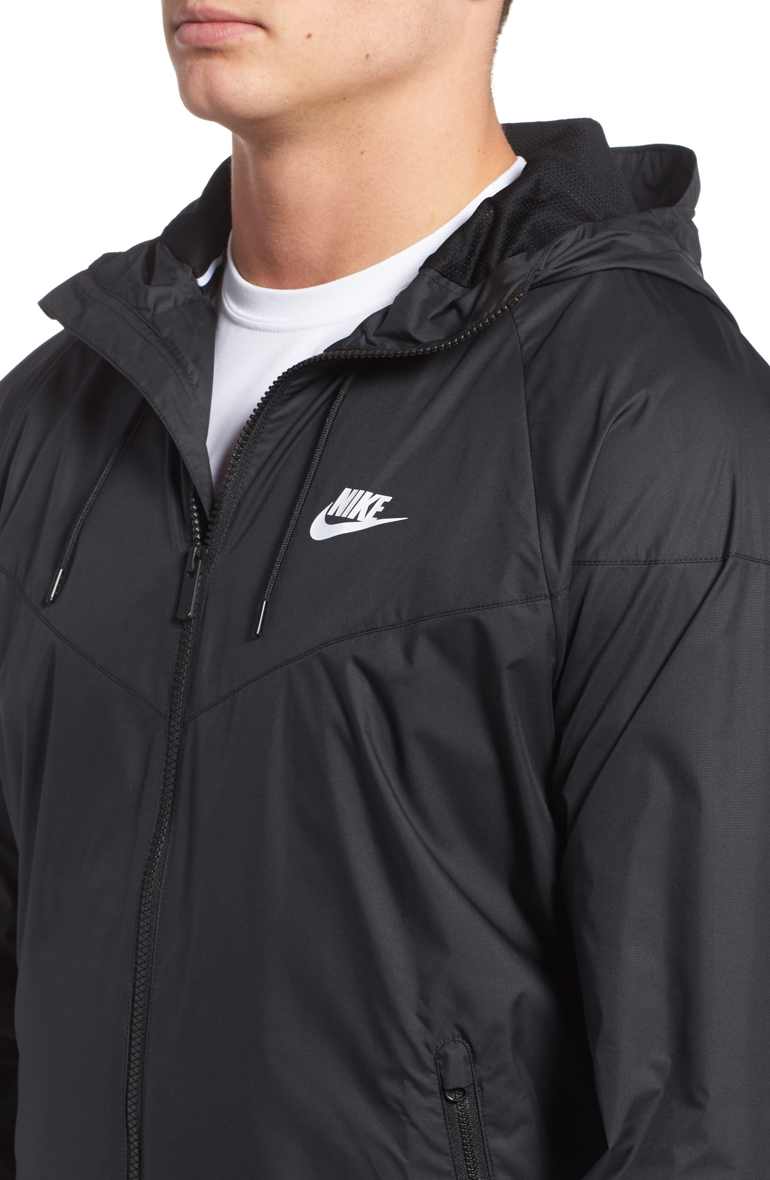 Alternate Image 4  - Nike 'Windrunner' Colorblock Jacket