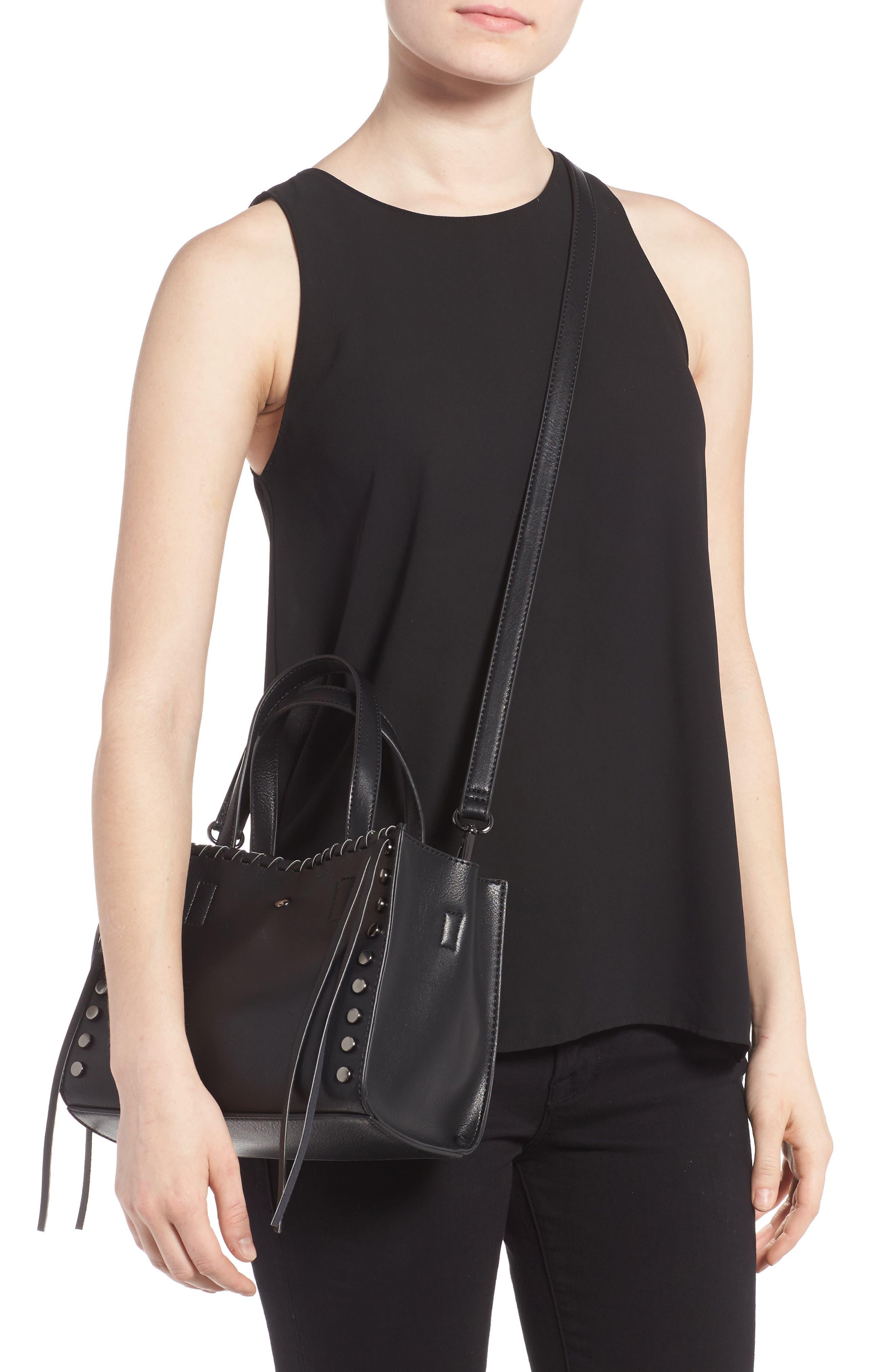 Alternate Image 2  - BP. Studded Faux Leather Crossbody Bag