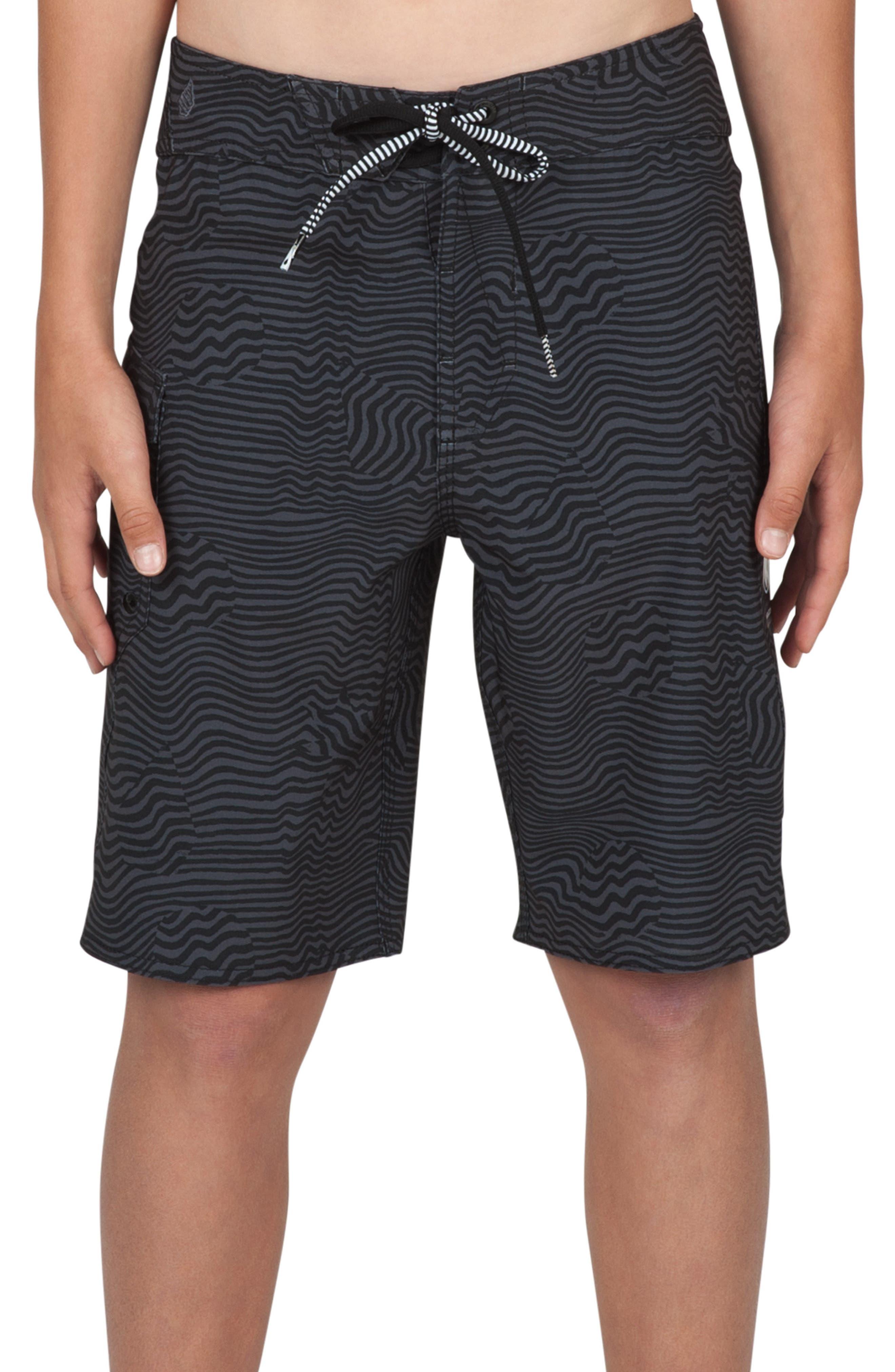 Volcom Magnetic Stone Board Shorts (Big Boys)