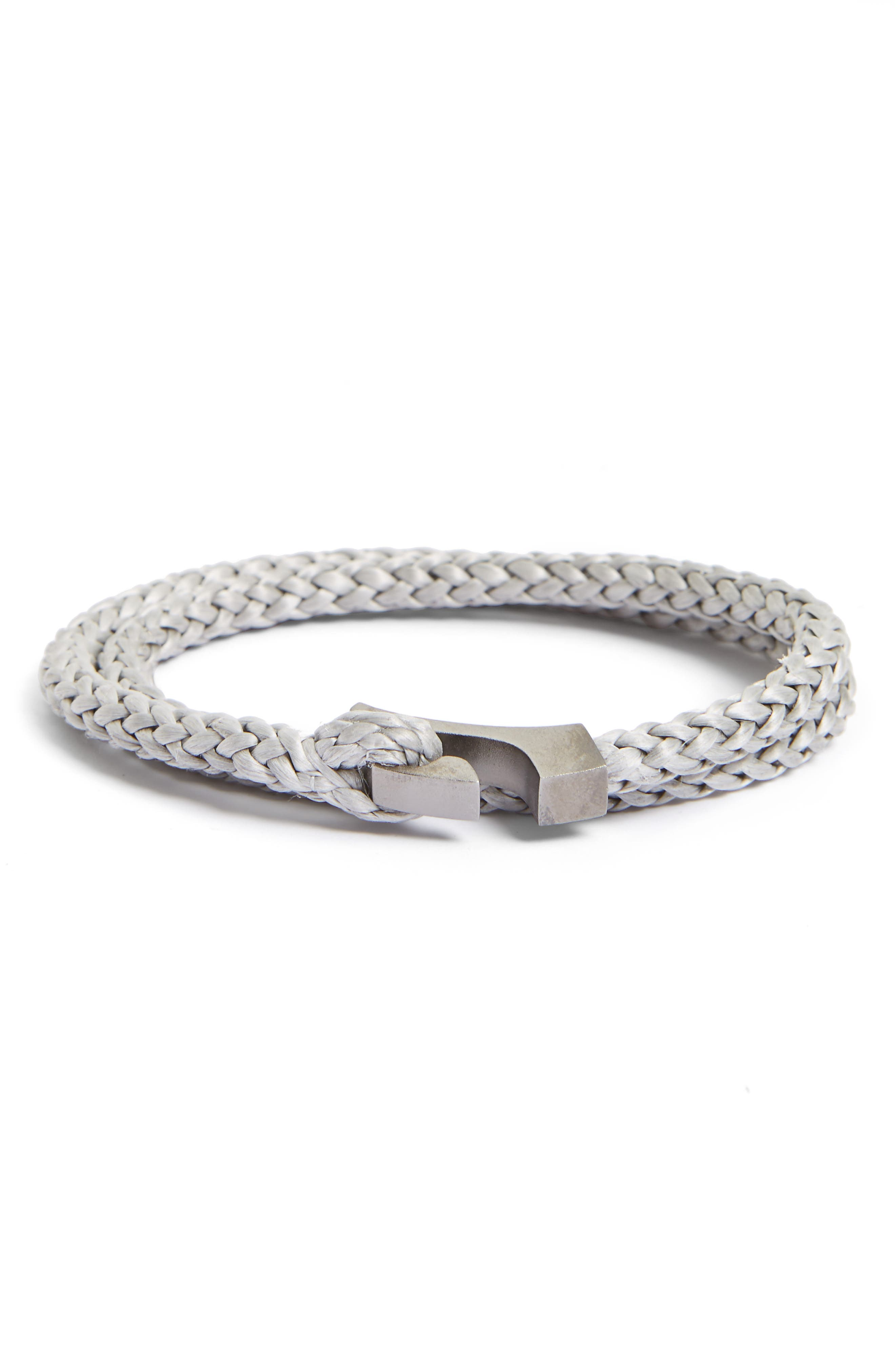 Miansai Ipsum Braided Nylon Bracelet