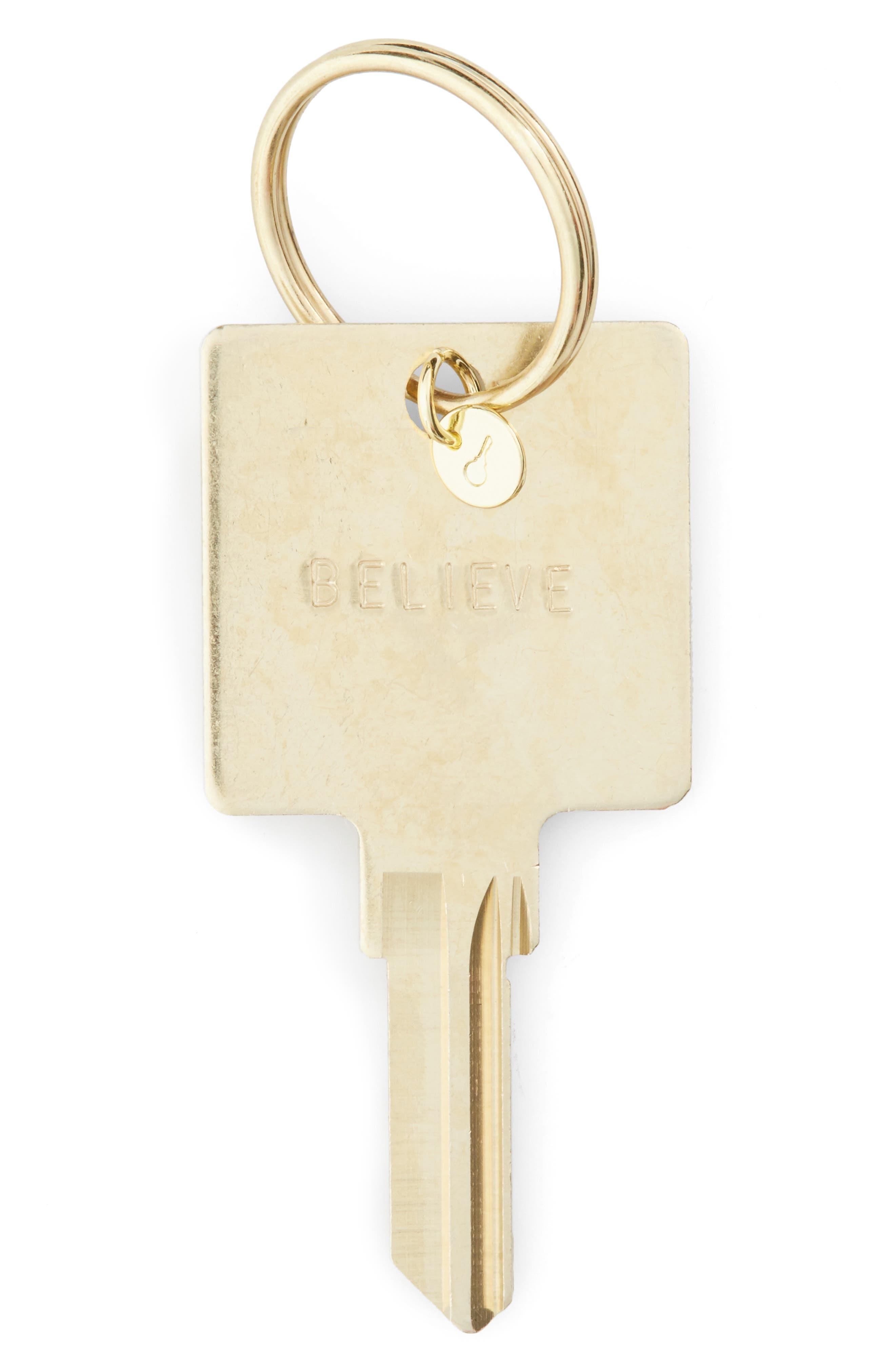 Alternate Image 1 Selected - The Giving Keys Believe Hotel Key Ring