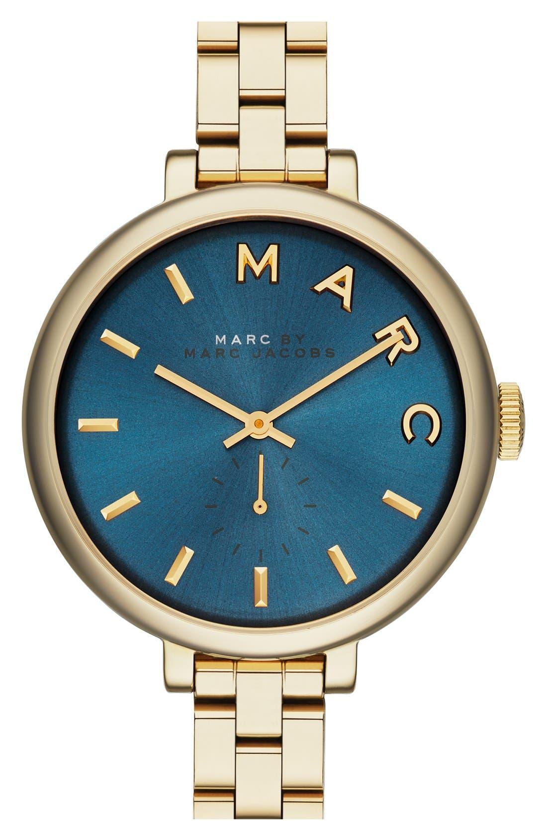 Main Image - MARC JACOBS 'Sally' Round Bracelet Watch, 36mm