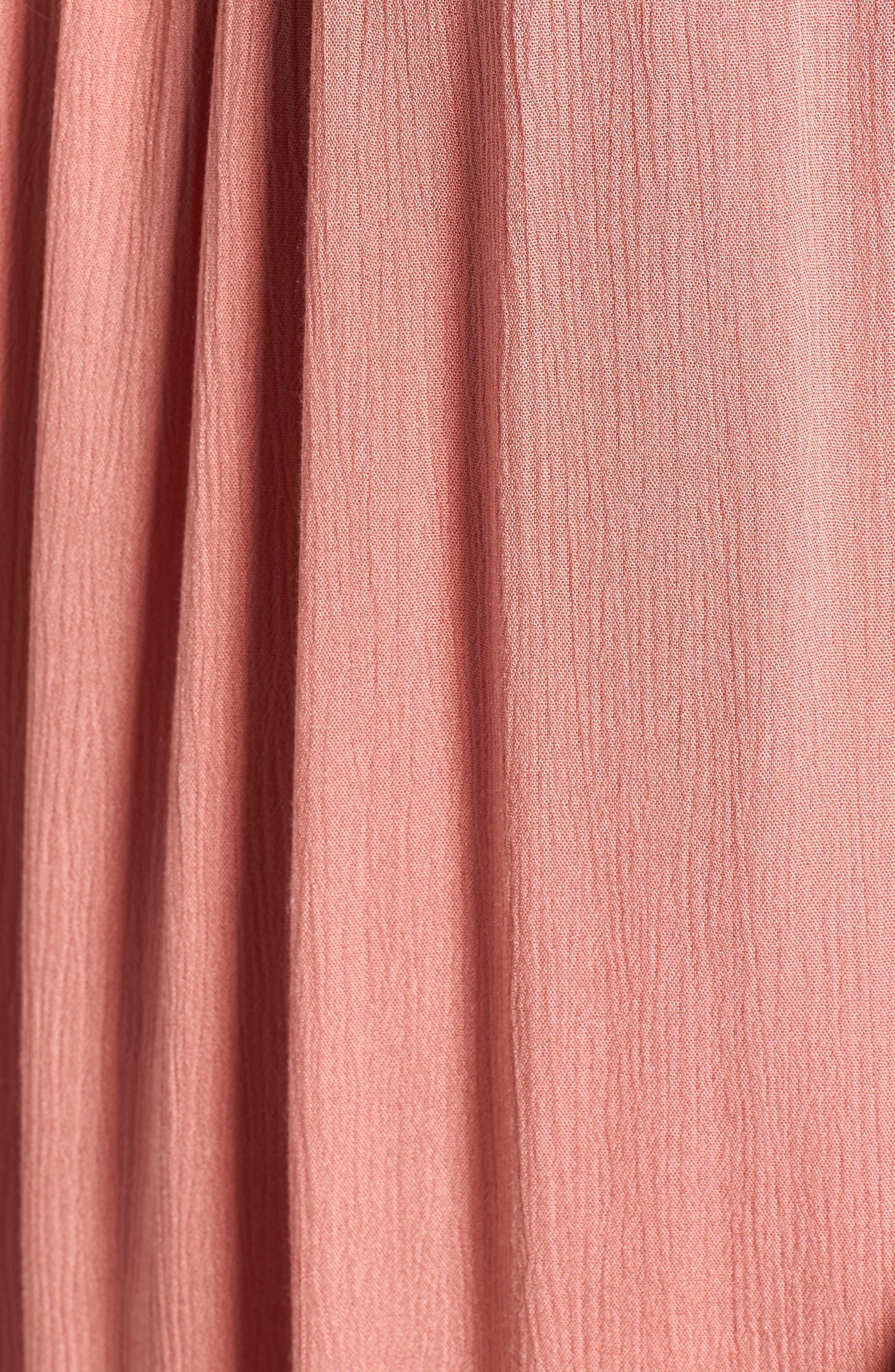 Alternate Image 5  - One Clothing Off the Shoulder Shift Dress