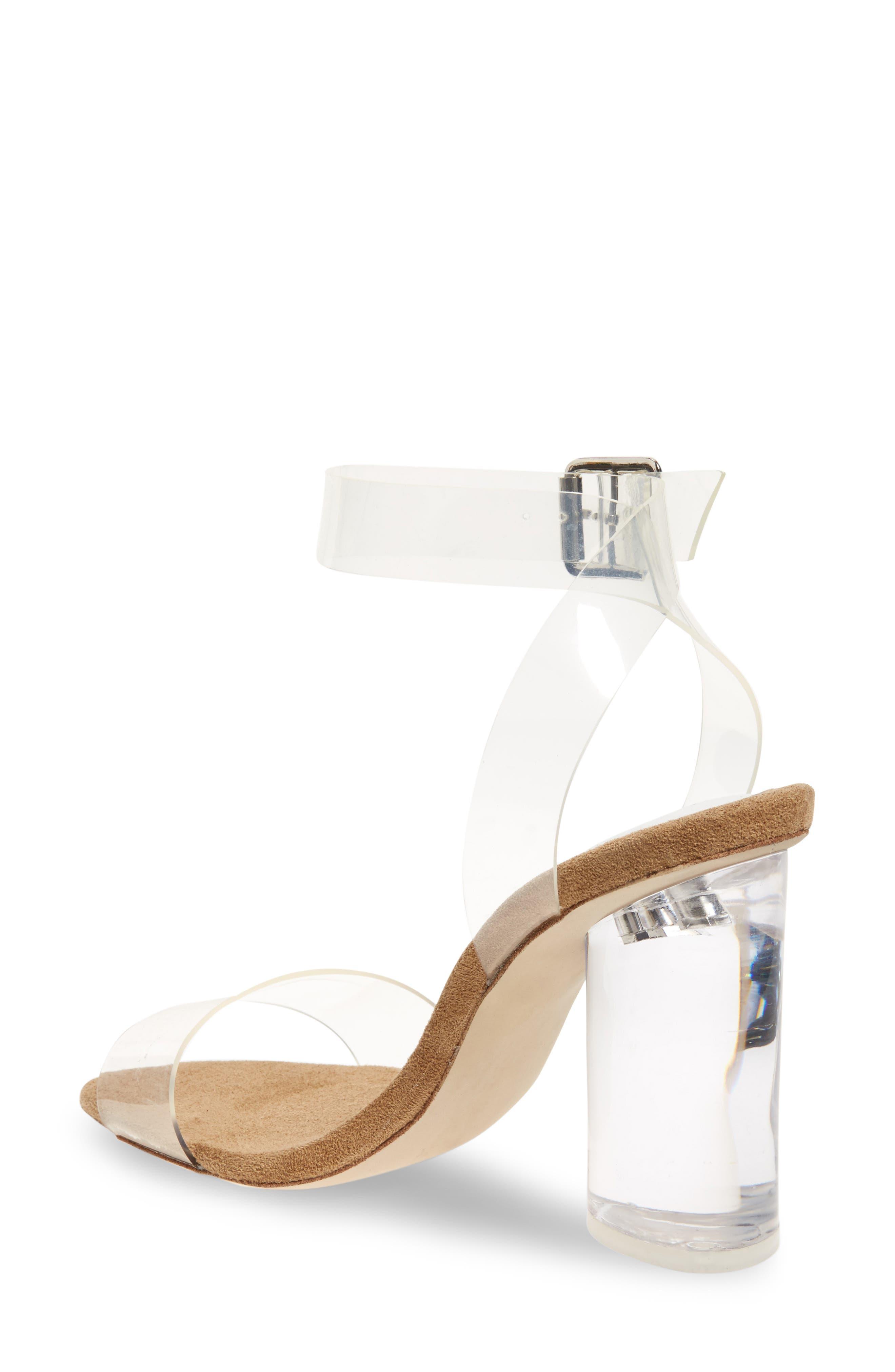 Alternate Image 2  - Jeffrey Campbell Clear Heel Sandal (Women)