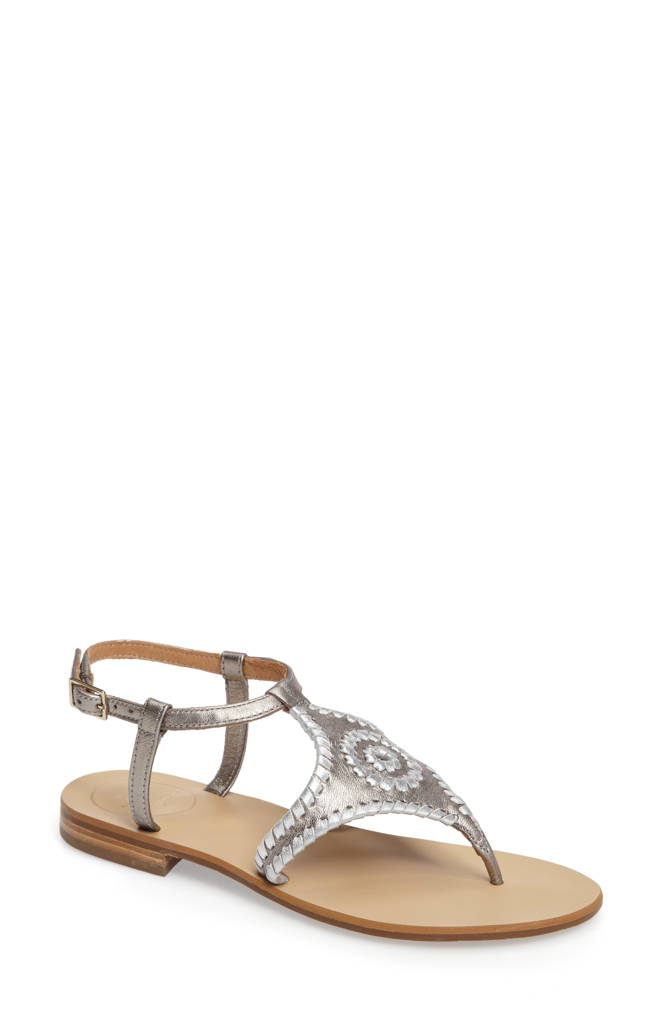 Alternate Image 1 Selected - Jack Rogers 'Maci' Flat Sandal (Women)