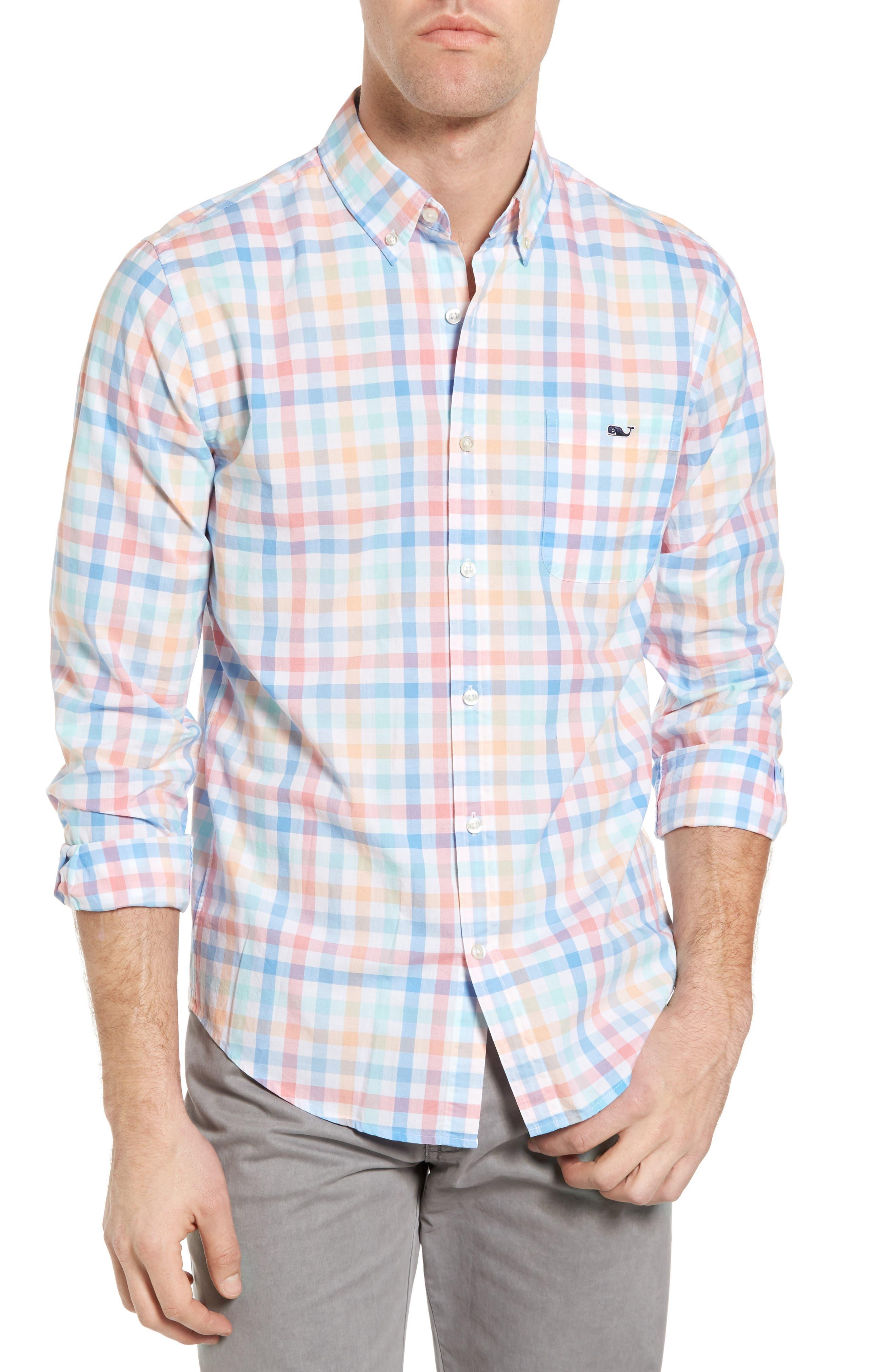 Vineyard Vines Boway Check Tucker Slim Fit Sport Shirt