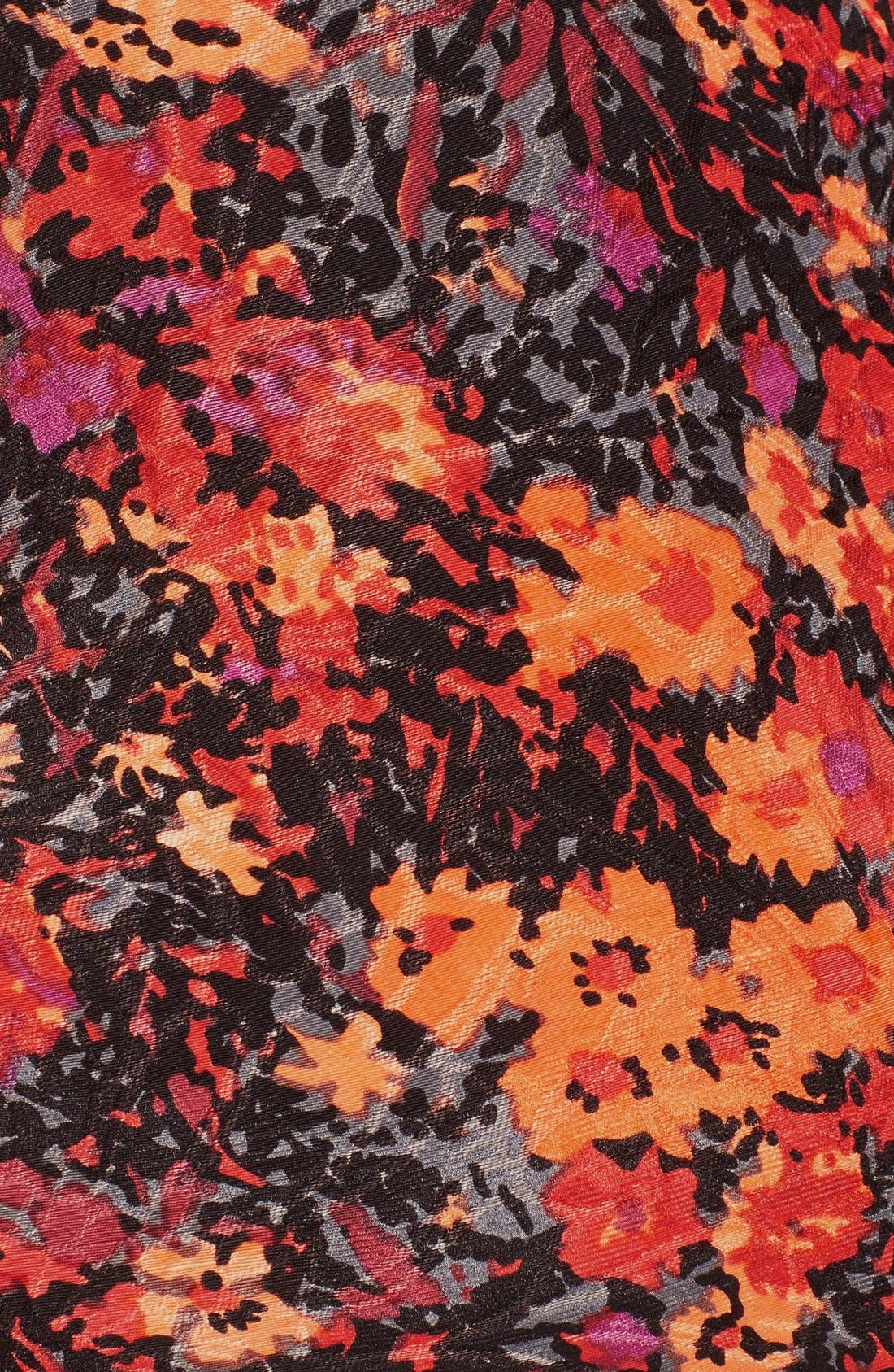 Alternate Image 3  - Tracy Reese Floral Print Fit & Flare Dress
