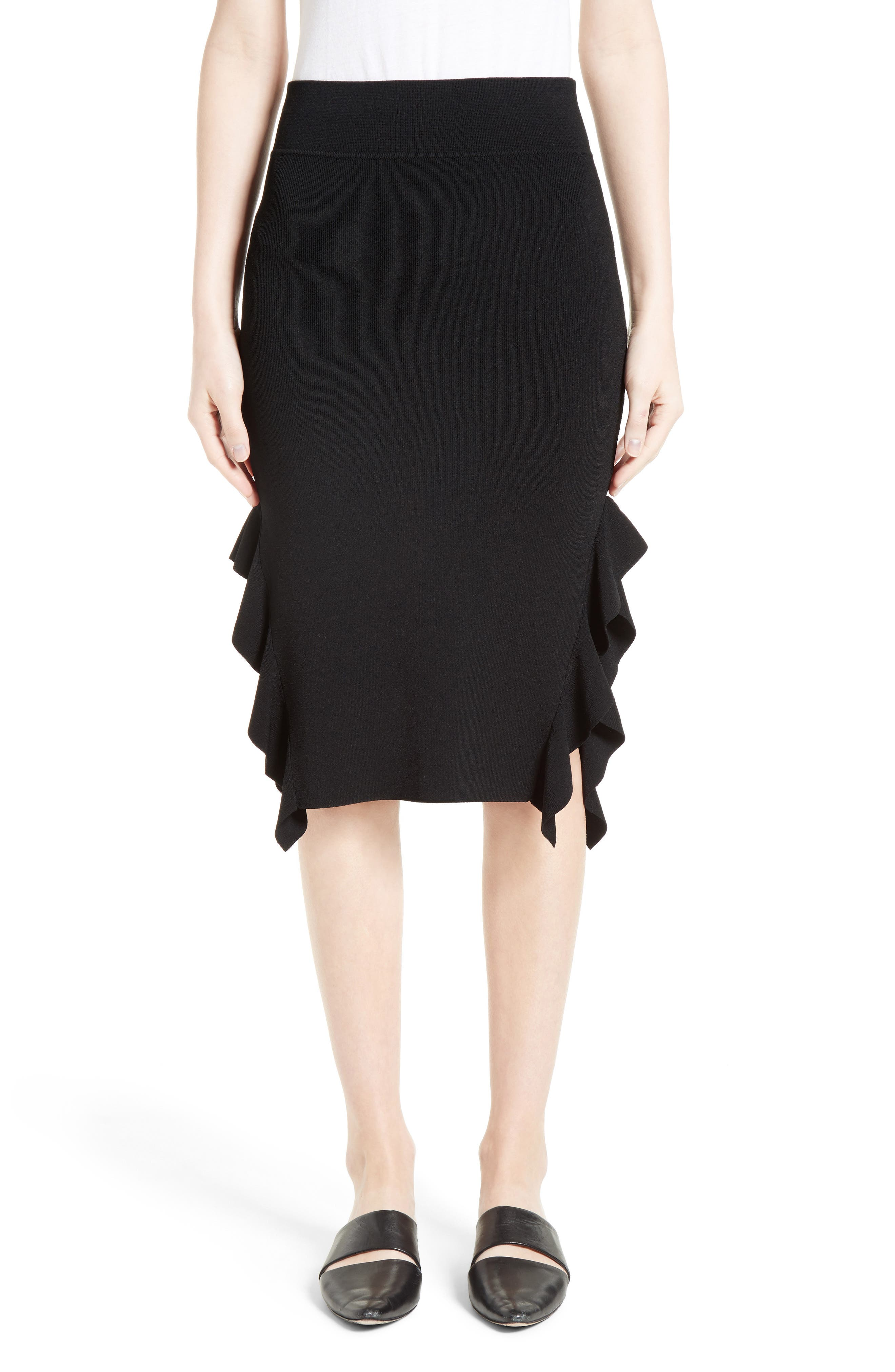 Opening Ceremony Side Flounce Skirt