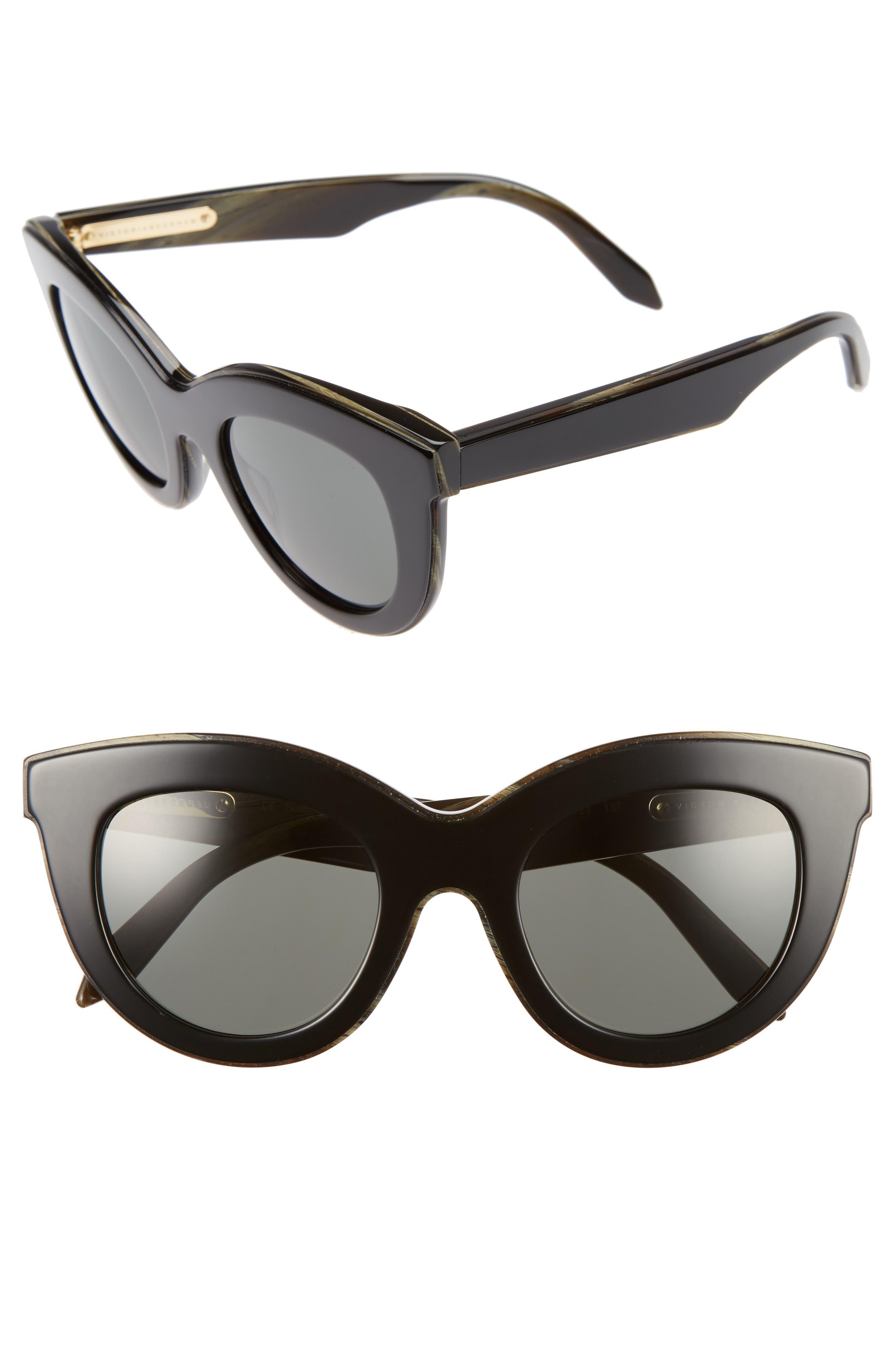 Main Image - Victoria Beckham 49mm Cat Eye Sunglasses