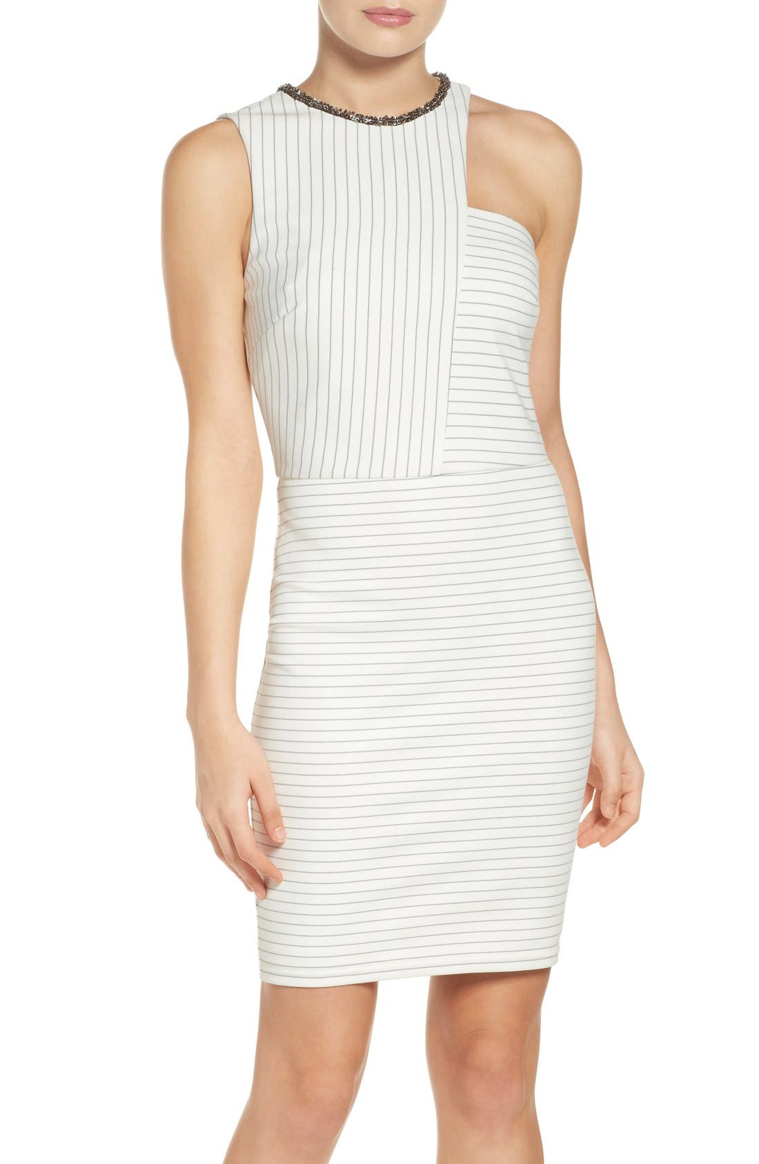 Alternate Image 1 Selected - Ali & Jay Ponte Body-Con Dress