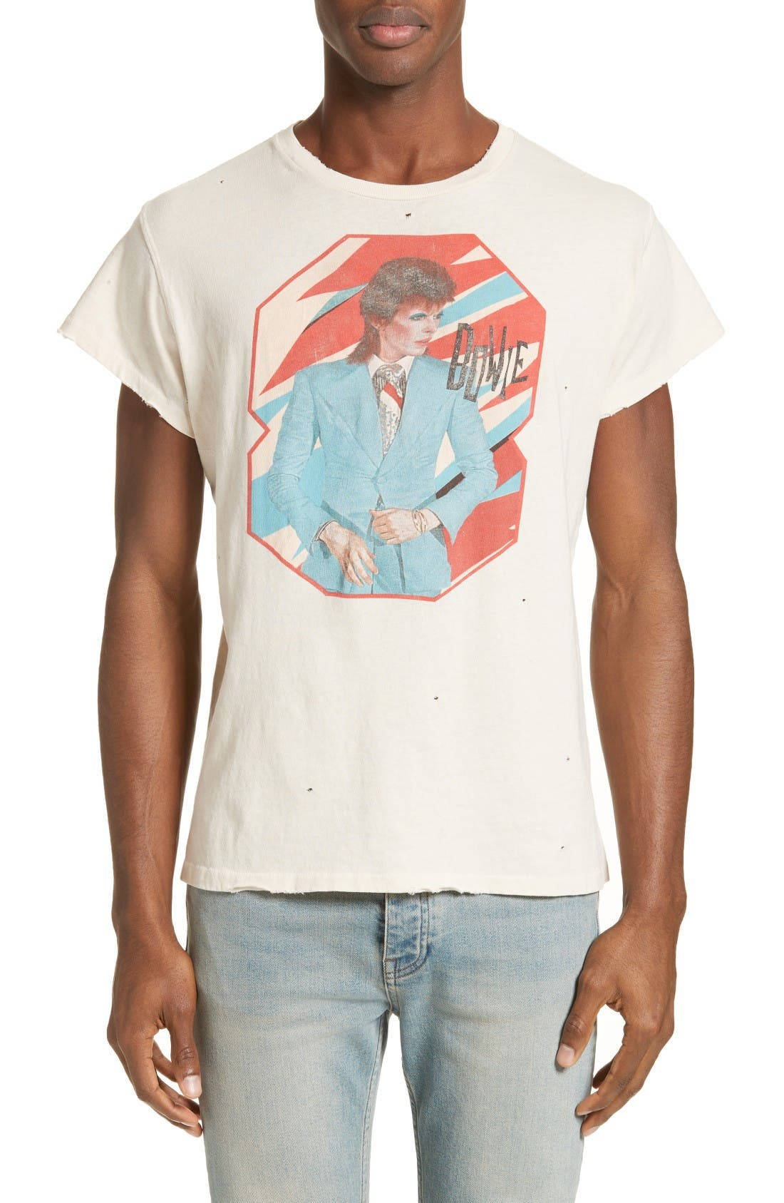 MADEWORN David Bowie Graphic T-Shirt