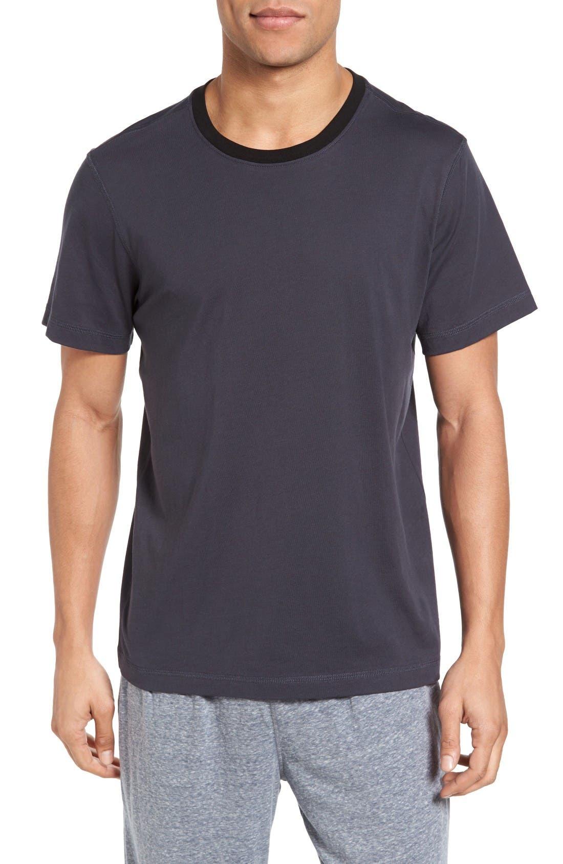 DANIEL BUCHLER Crewneck Peruvian Pima Cotton T-Shirt