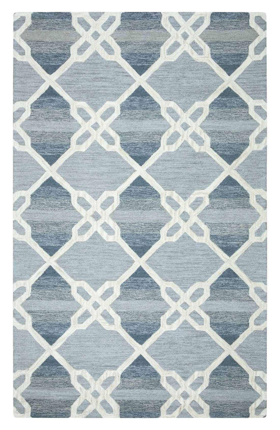 RIZZY HOME 'Caterine Collection' Hand Tufted Wool Area