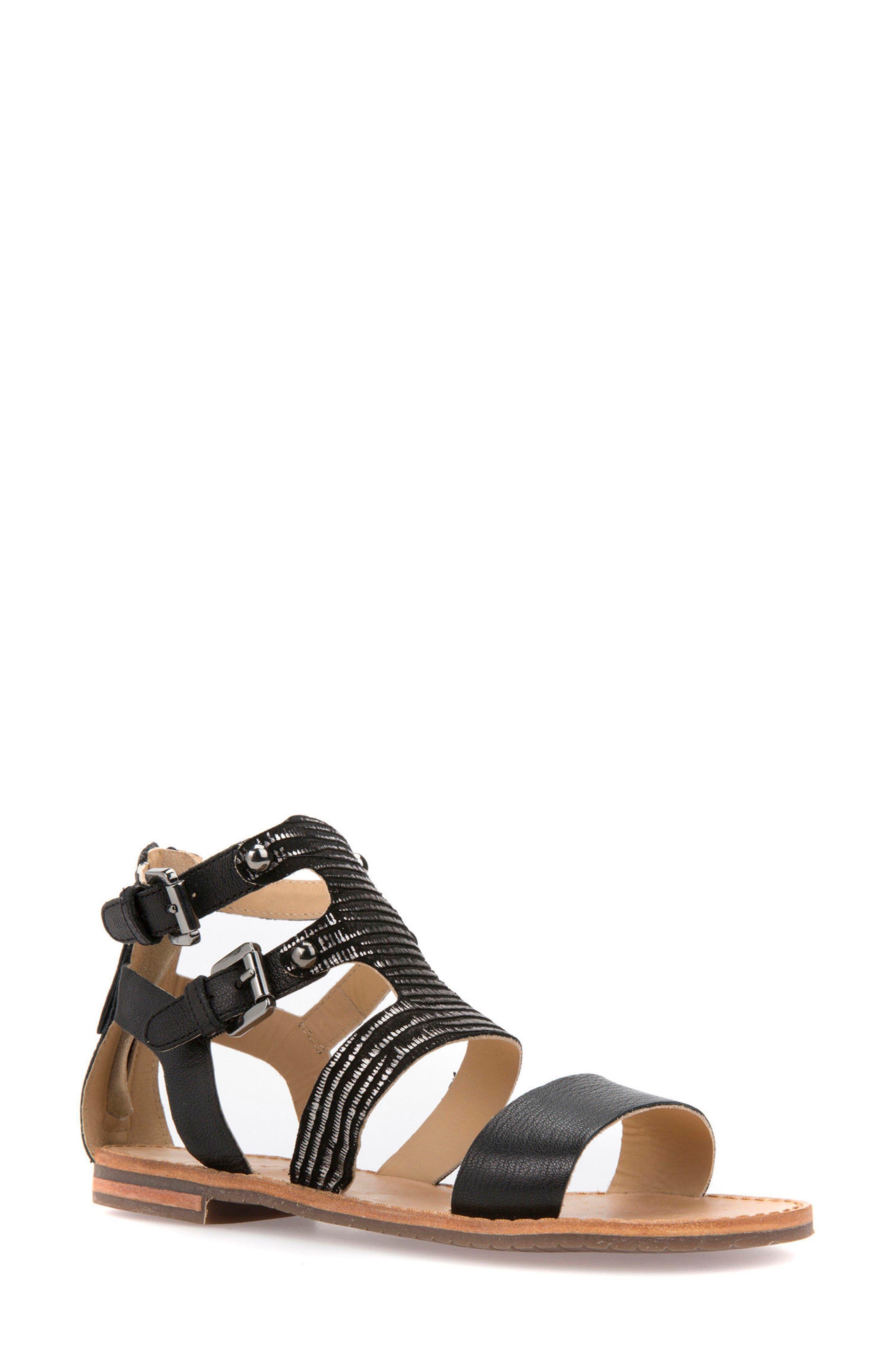 Geox Sozy Gladiator Sandal (Women)