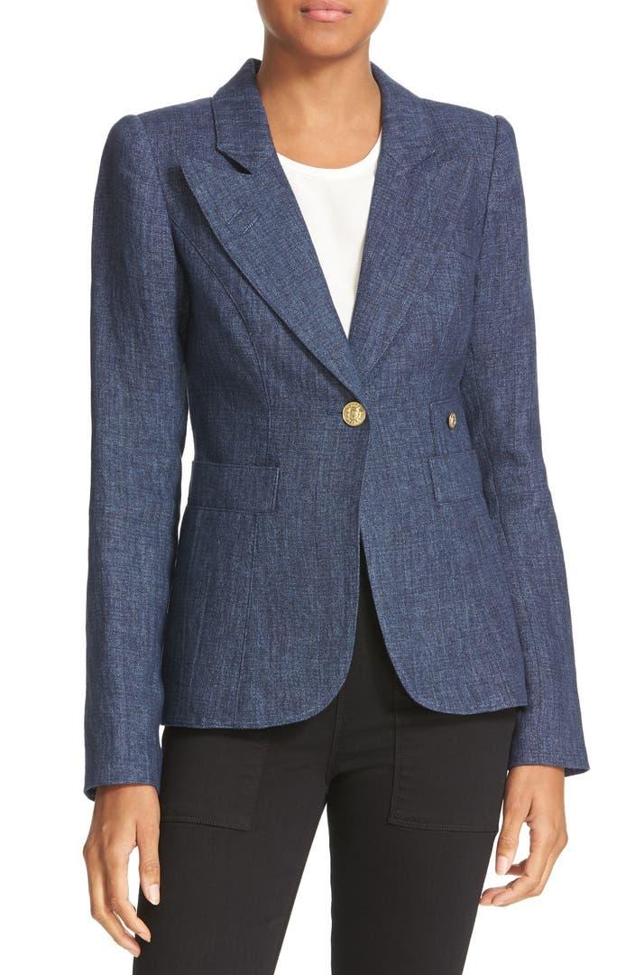 Smythe chambray duchess blazer nordstrom for Smythe designer
