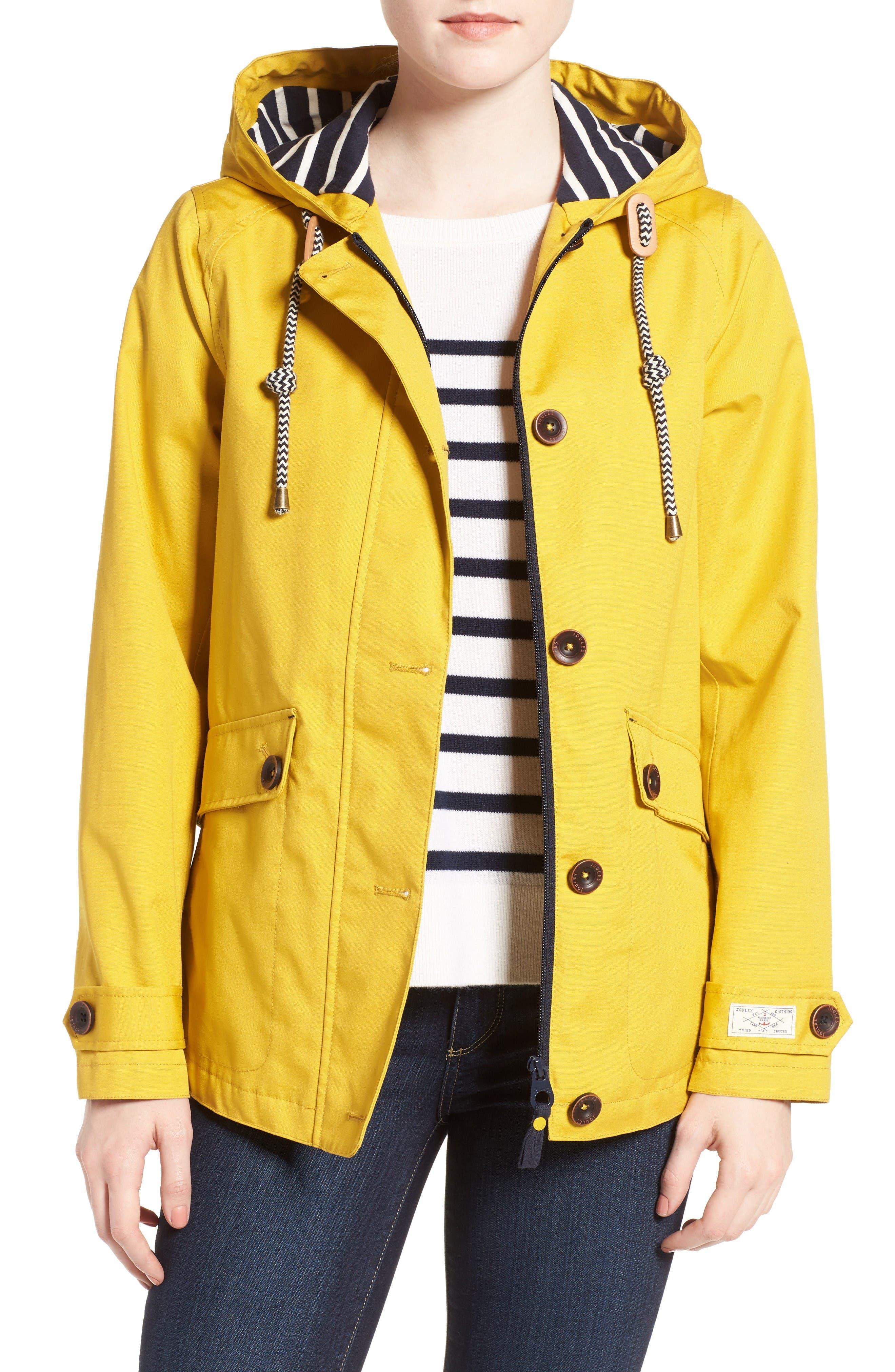 Alternate Image 1 Selected - Joules Right as Rain Waterproof Hooded Jacket