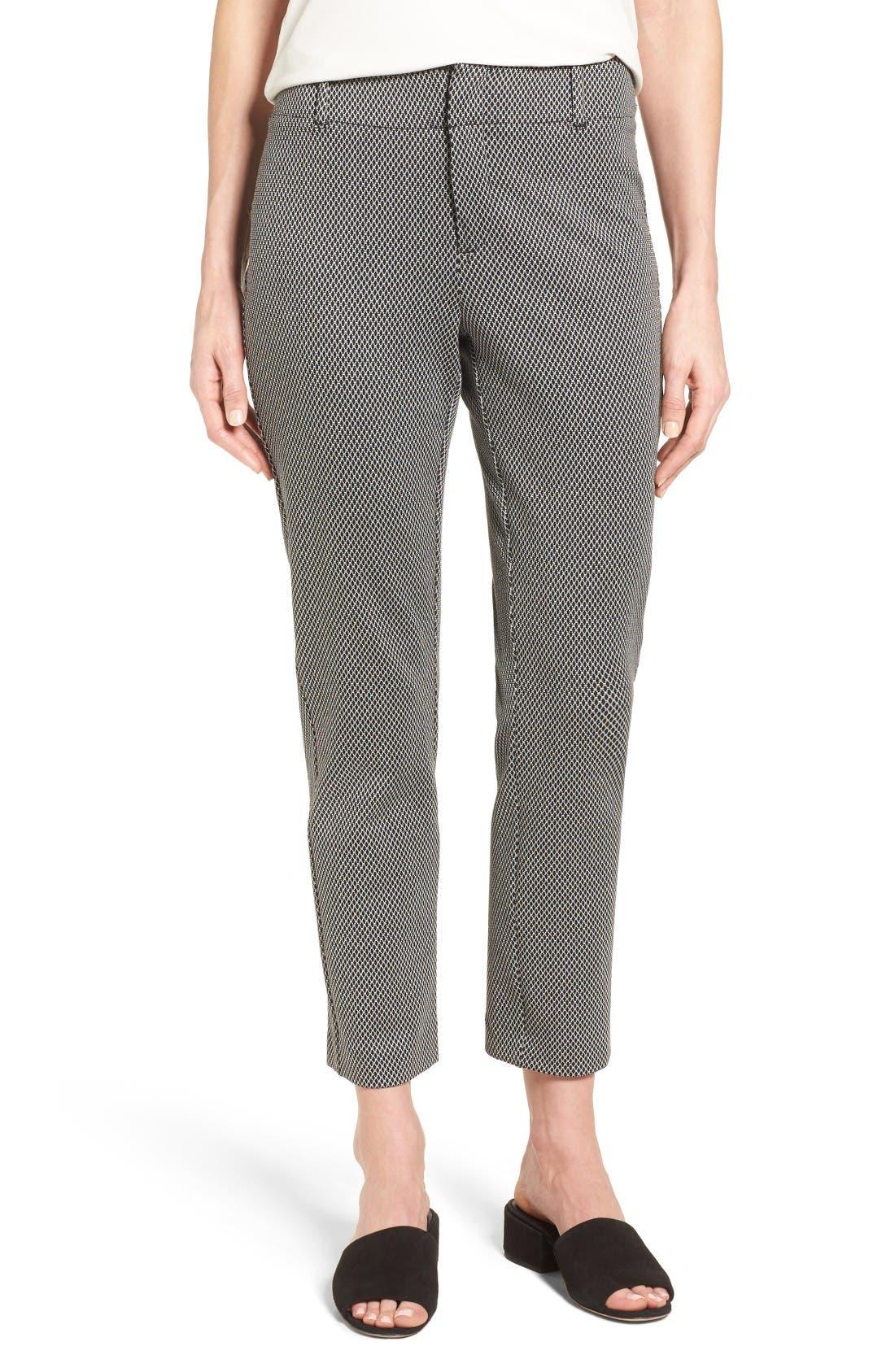 Main Image - NYDJ Renee Stretch Jacquard Ankle Pants
