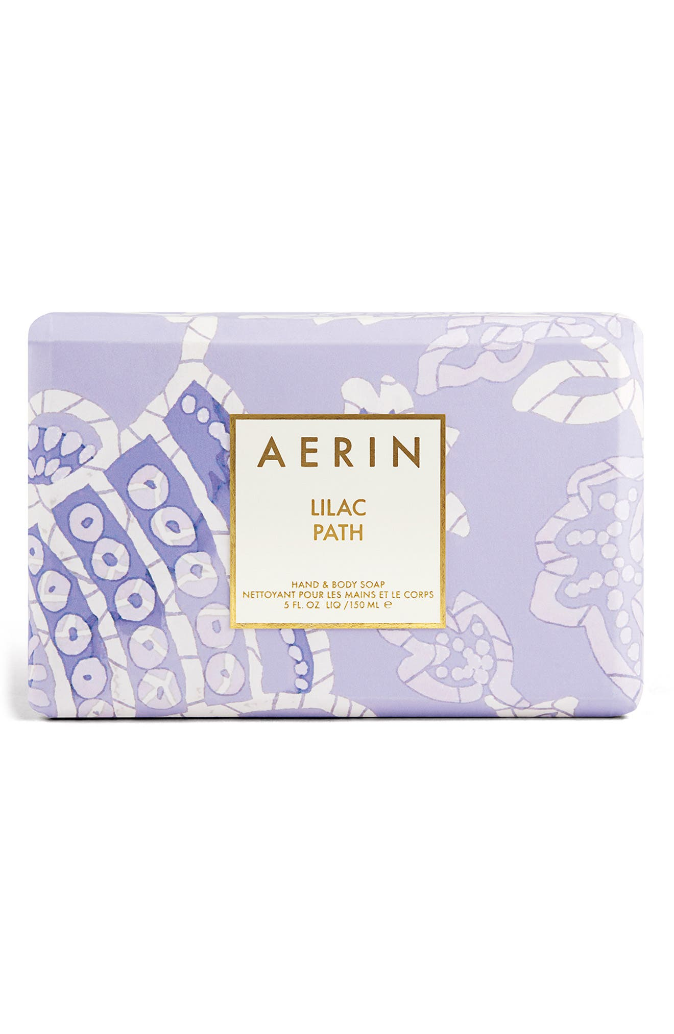 Alternate Image 1 Selected - AERIN Beauty Lilac Path Soap