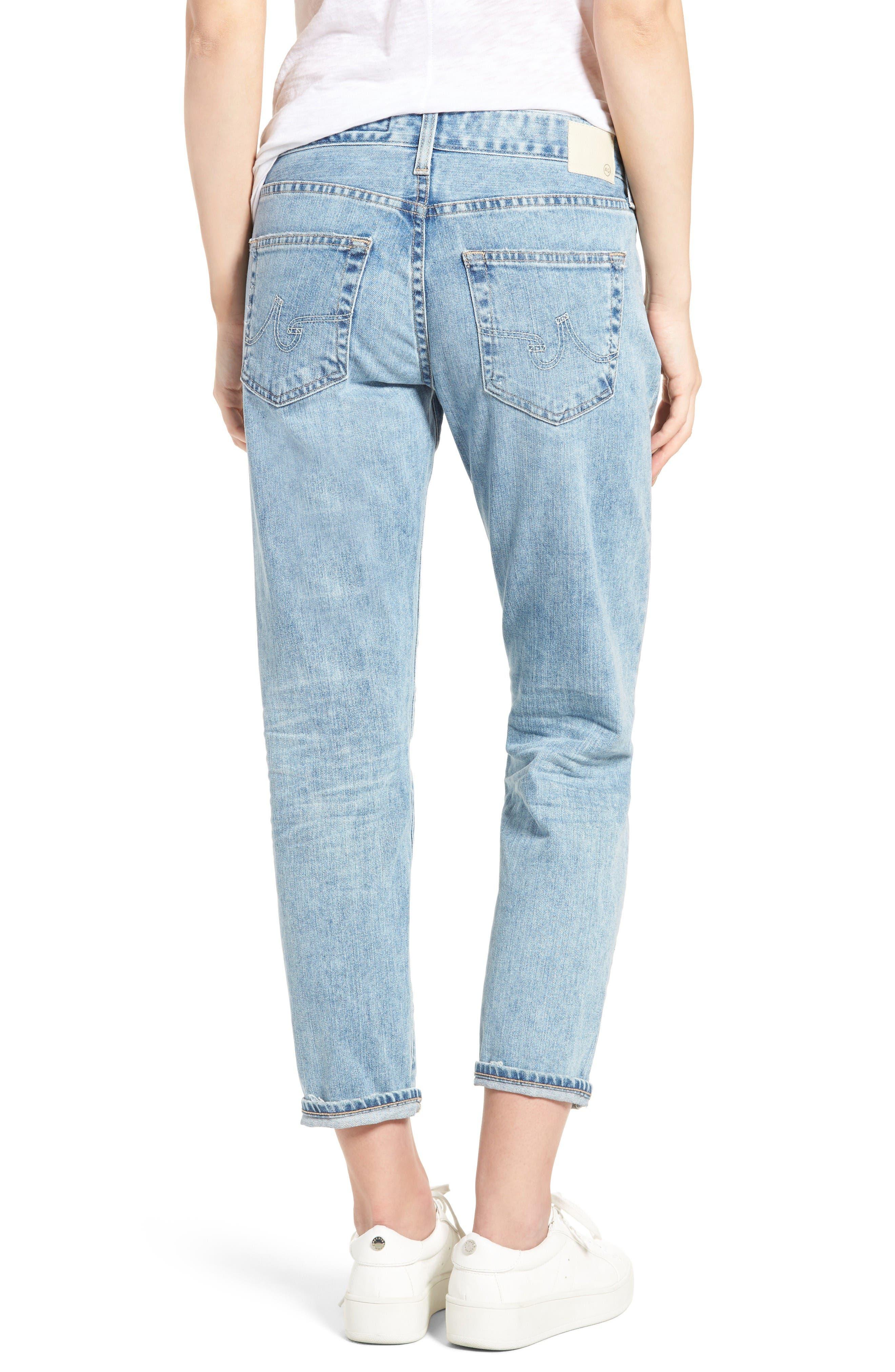 Alternate Image 3  - AG Ex-Boyfriend Crop Slim Jeans (24 Years Relief)