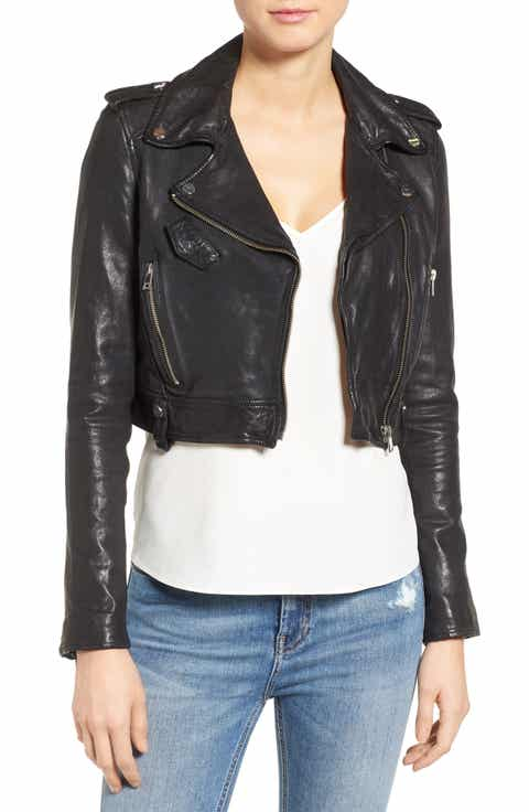 LAMARQUE Leather Jackets   Nordstrom