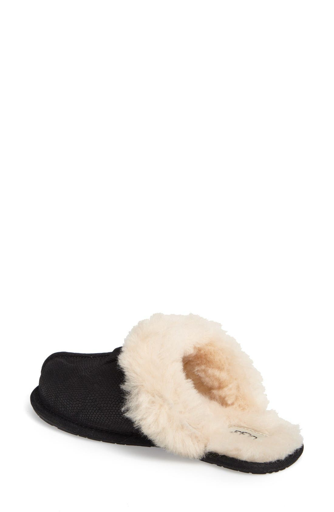 Alternate Image 2  - UGG® Scuffette II Snake Embossed Slipper (Women)