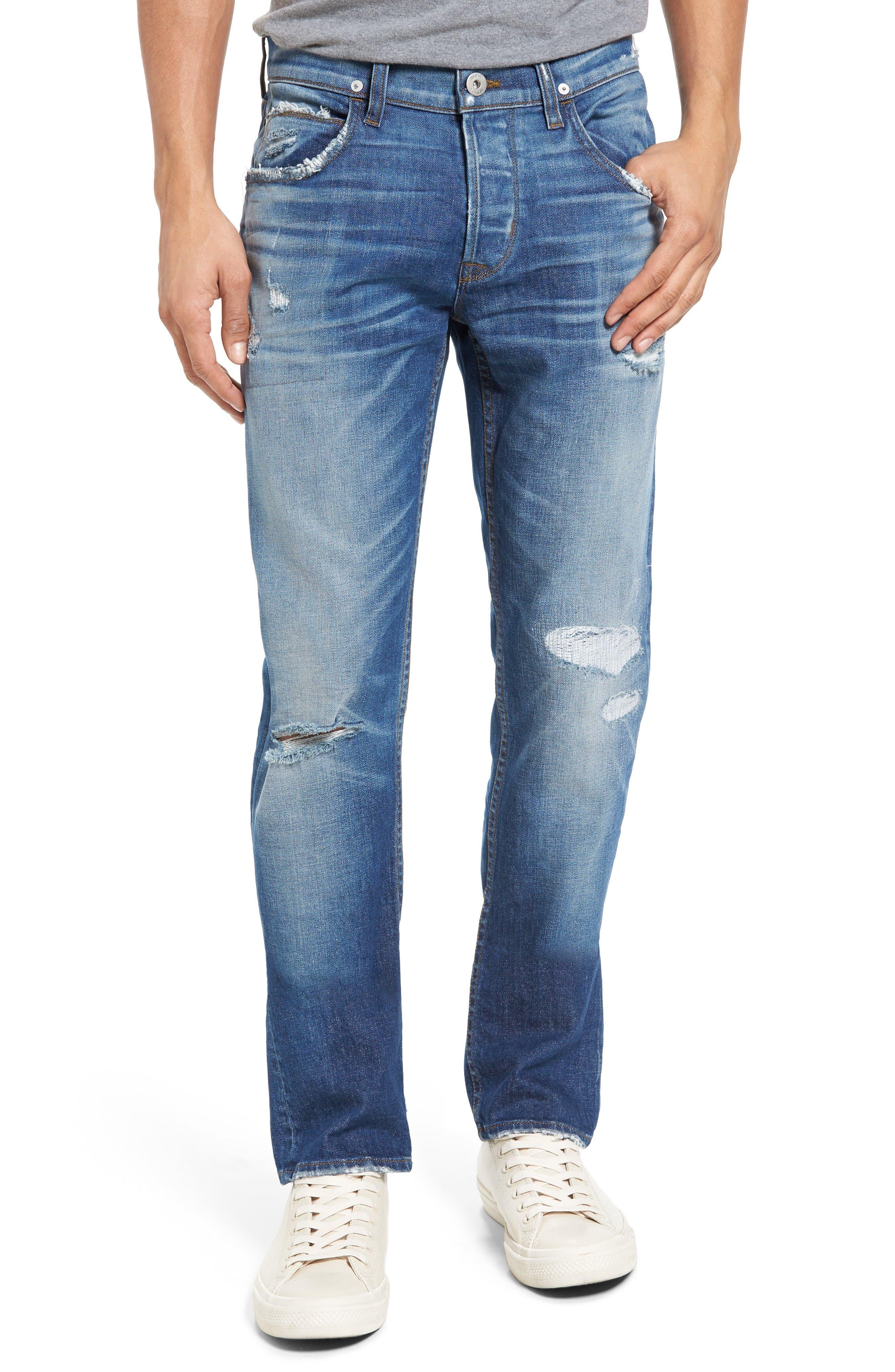 Hudson Jeans Blake Slim Fit Jeans (Aim)