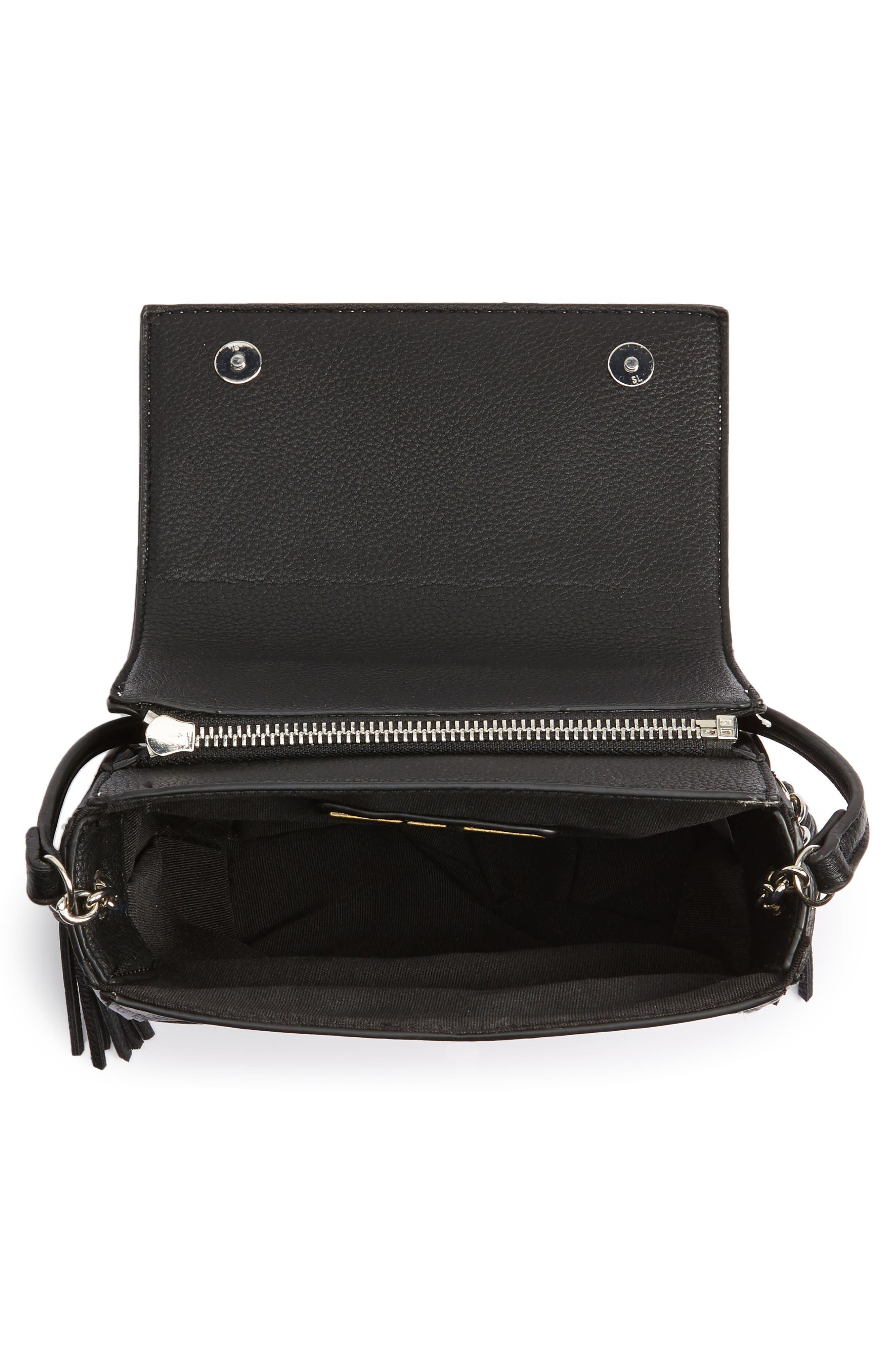 Alternate Image 3  - Street Level Convertible Faux Leather Crossbody Bag