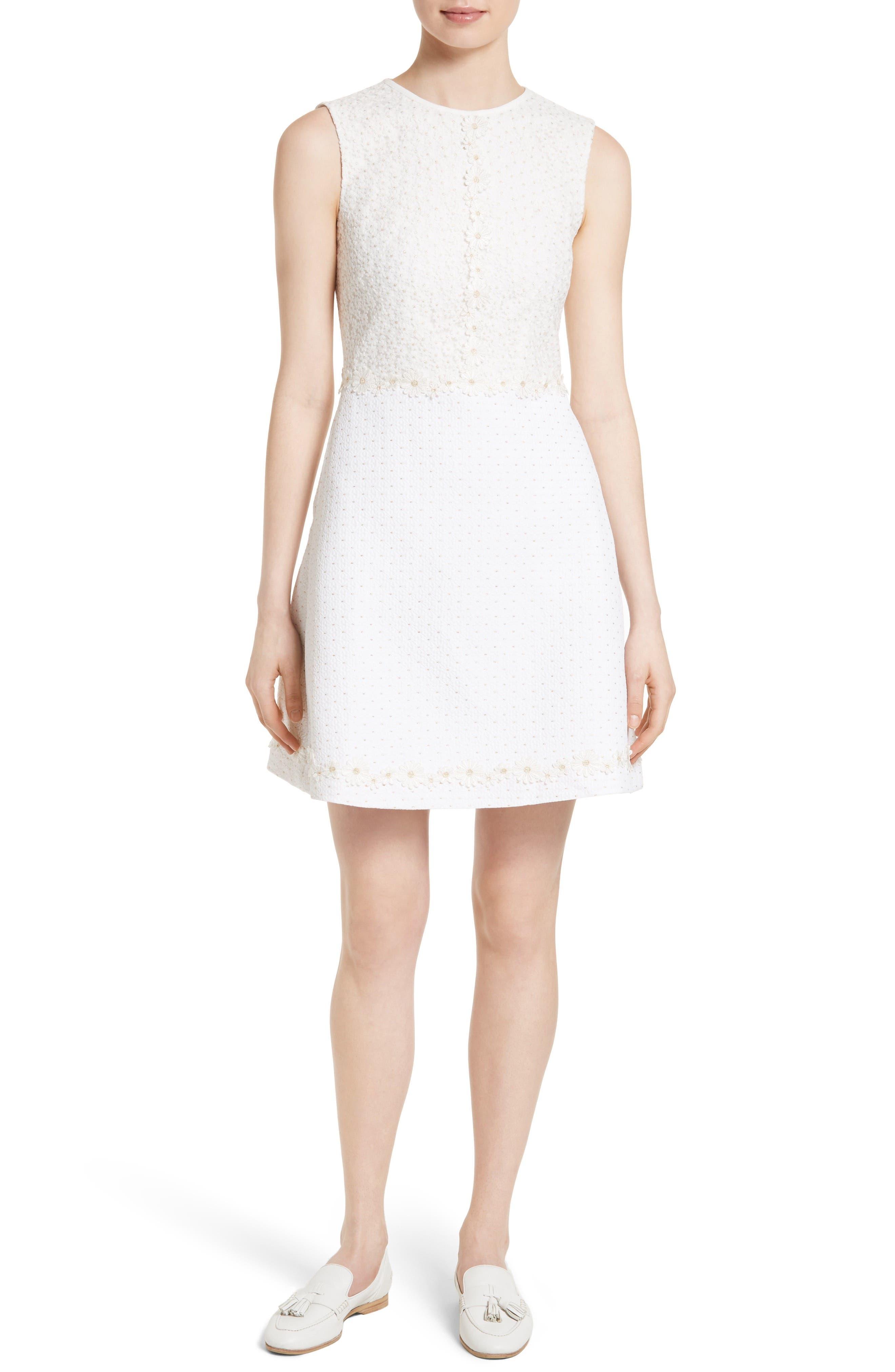 Alternate Image 1 Selected - Ted Baker London Olara Daisy Lace Shift Dress
