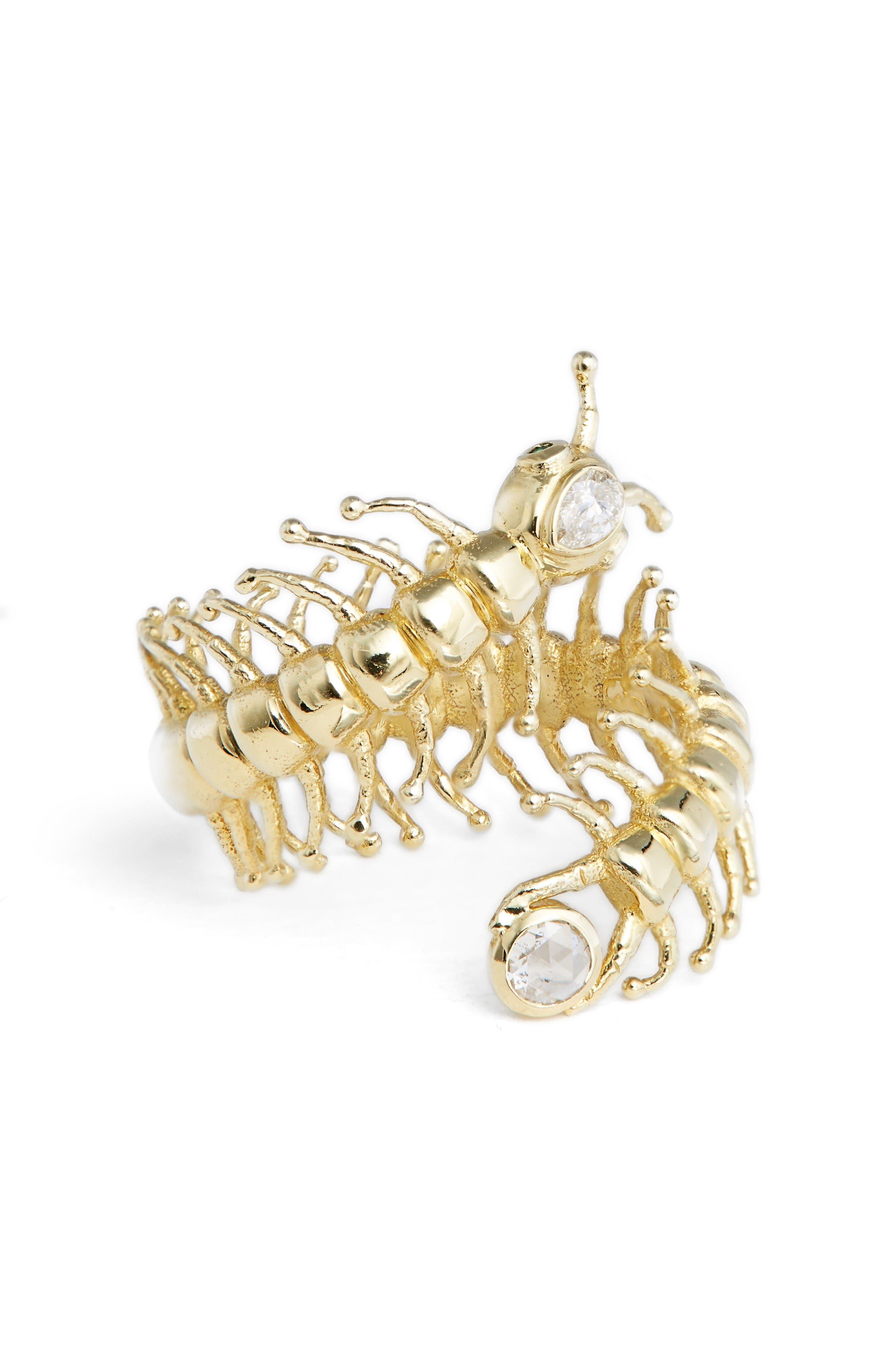 DANIELA VILLEGAS Centipede Ring