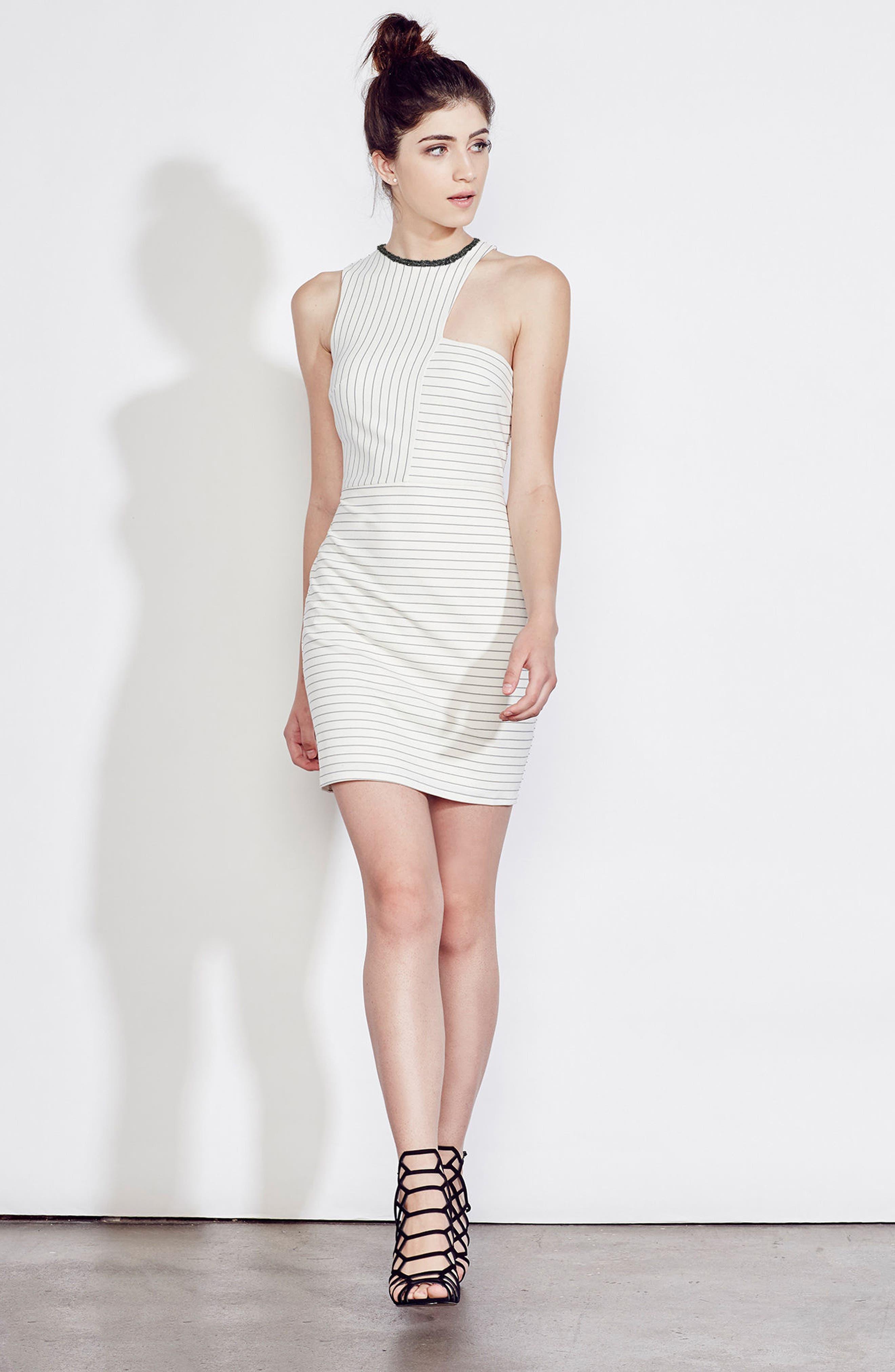 Alternate Image 2  - Ali & Jay Ponte Body-Con Dress