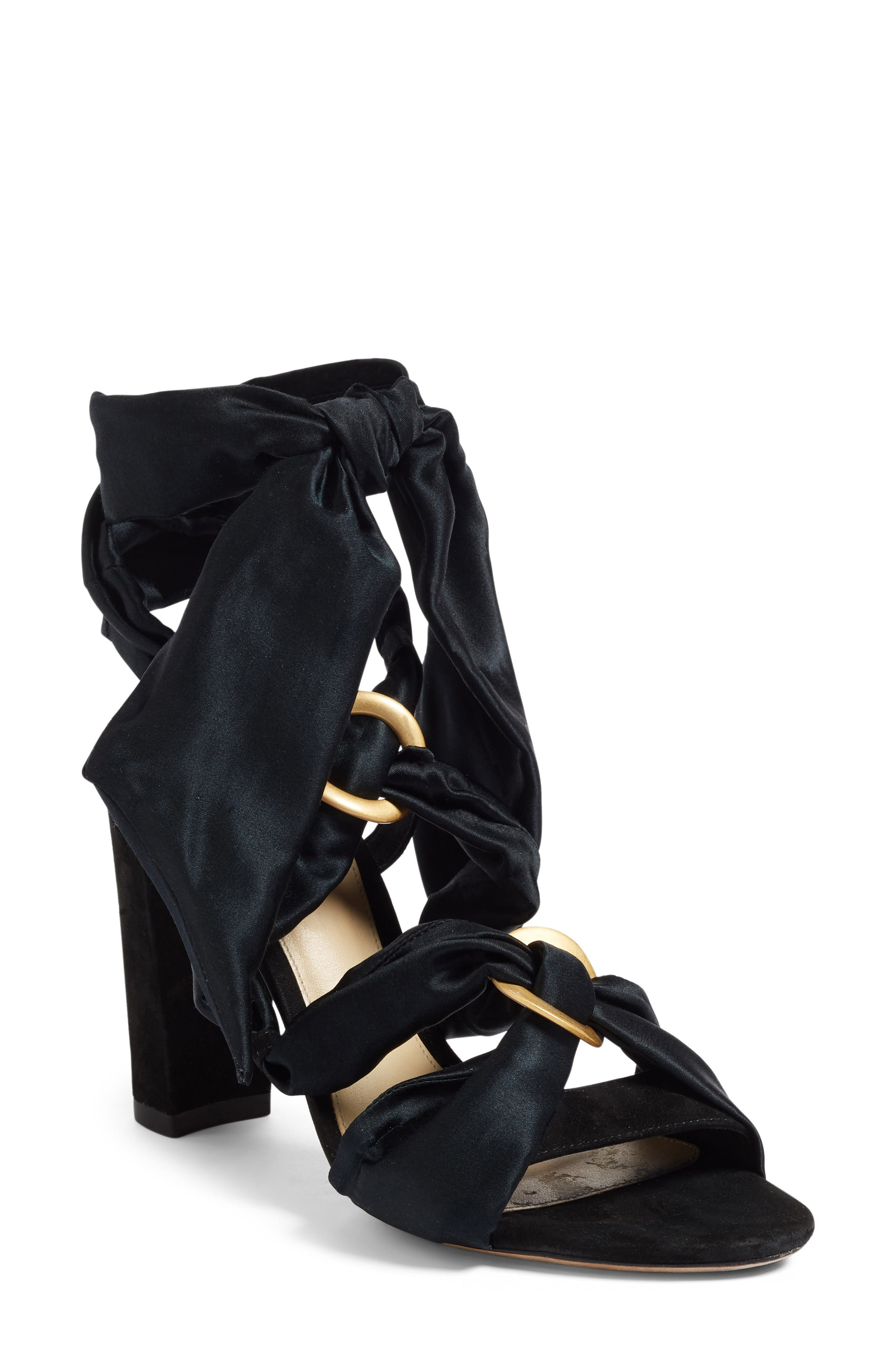 ALEXANDRE BIRMAN Alessa Block Heel Sandal