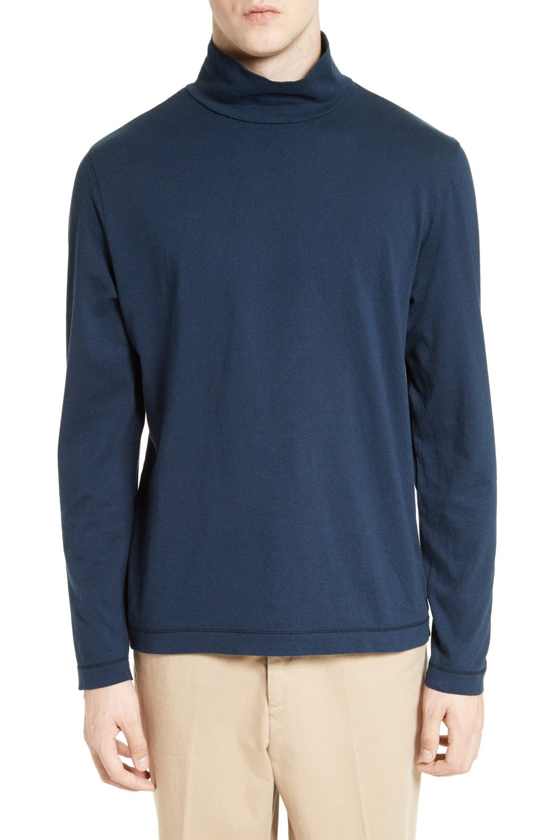 OUR LEGACY Cotton Jersey Turtleneck