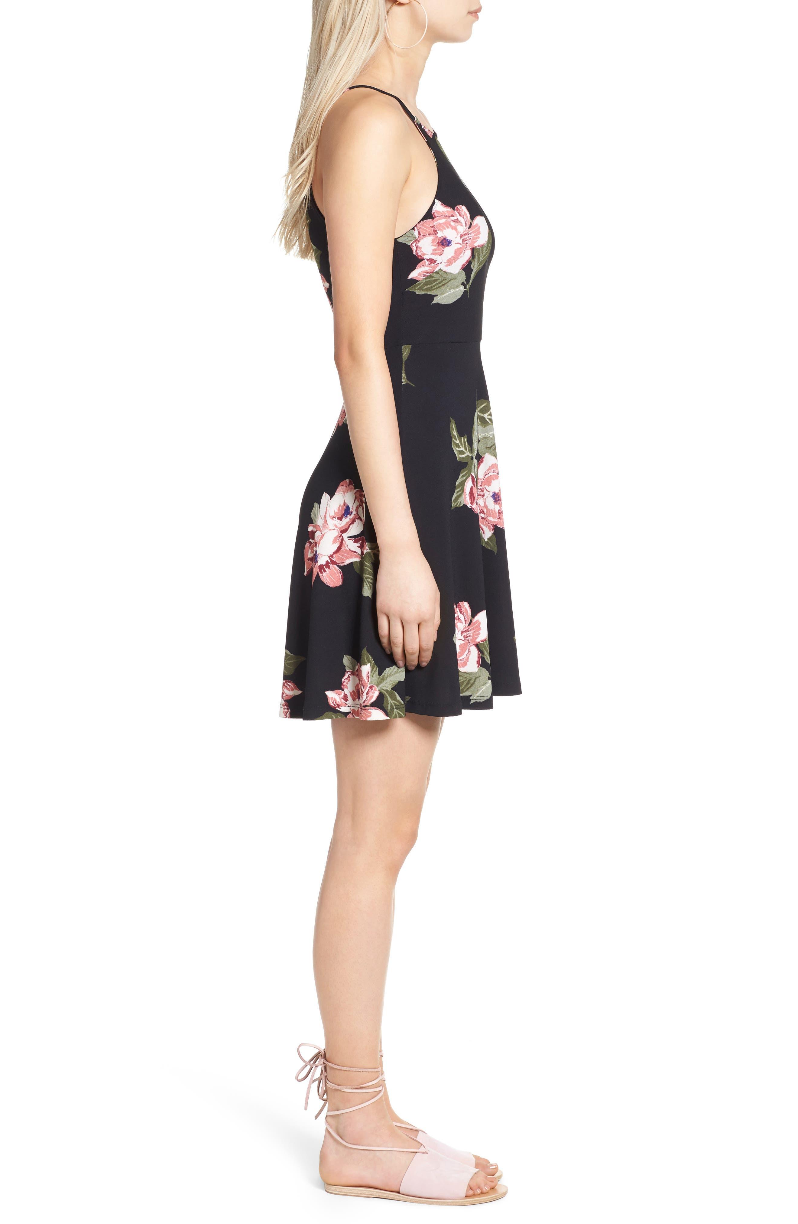Alternate Image 4  - Lush Ava Skater Dress