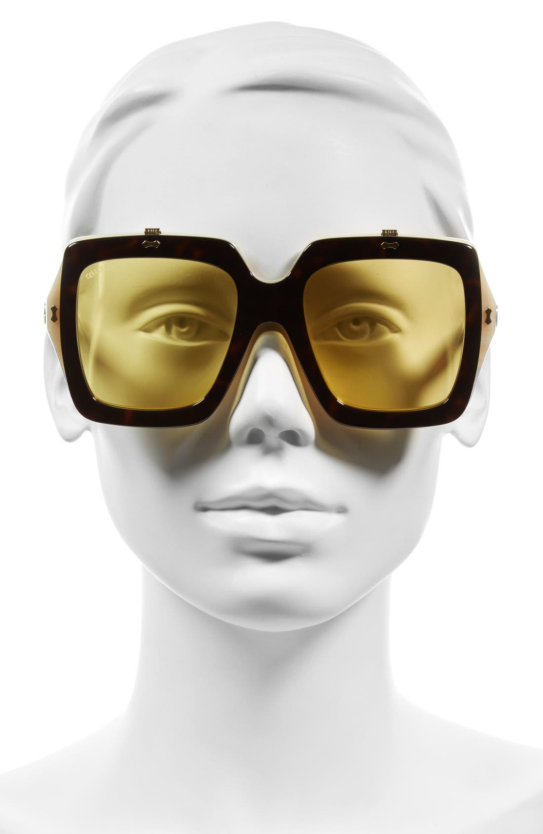 Alternate Image 3  - Gucci 55mm Flip-Up Sunglasses
