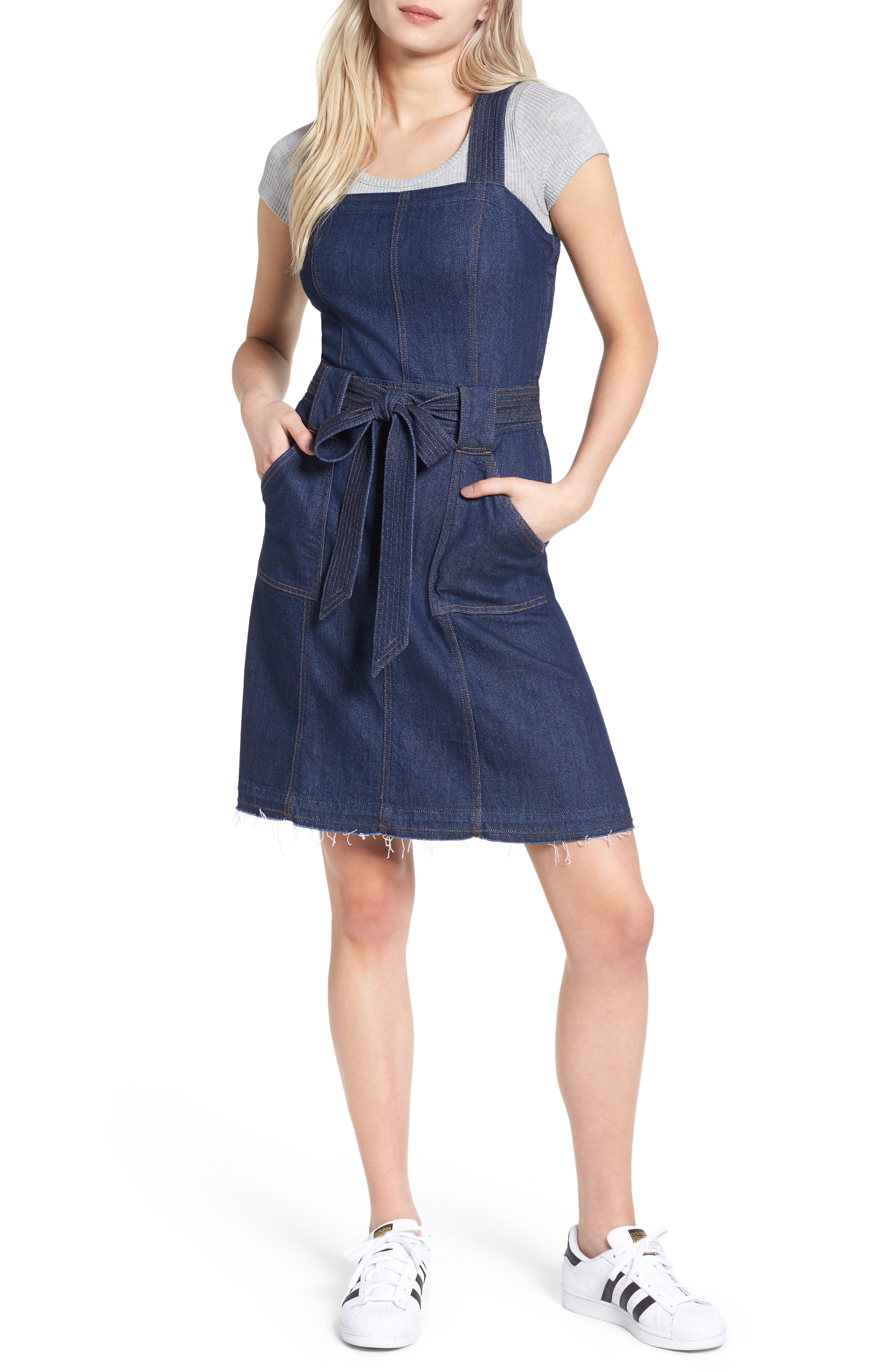 7 FOR ALL MANKIND® A-Line Denim Dress