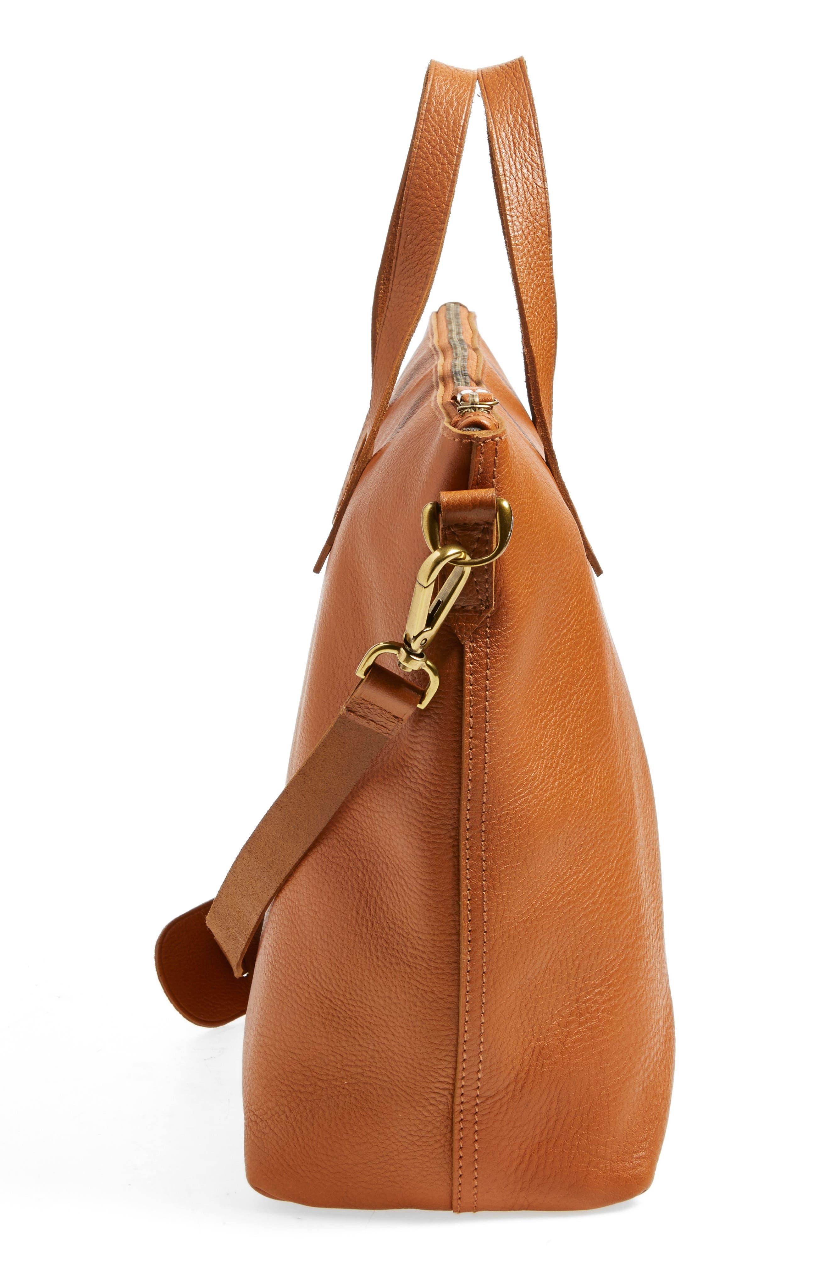Alternate Image 5  - Madewell Leather Transport Satchel