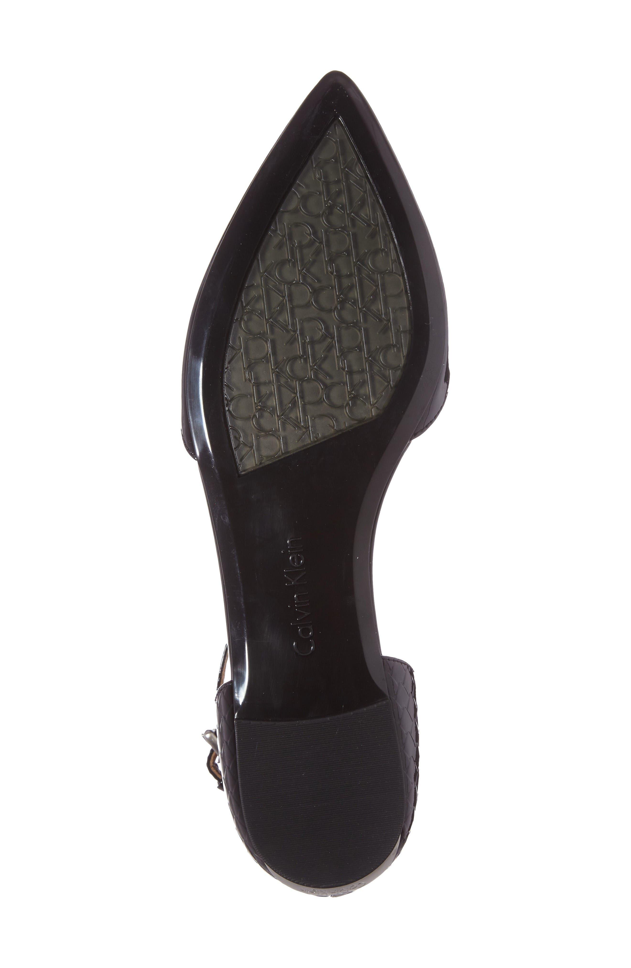 Alternate Image 4  - Calvin Klein 'Ghita' T-Strap Flat (Women)