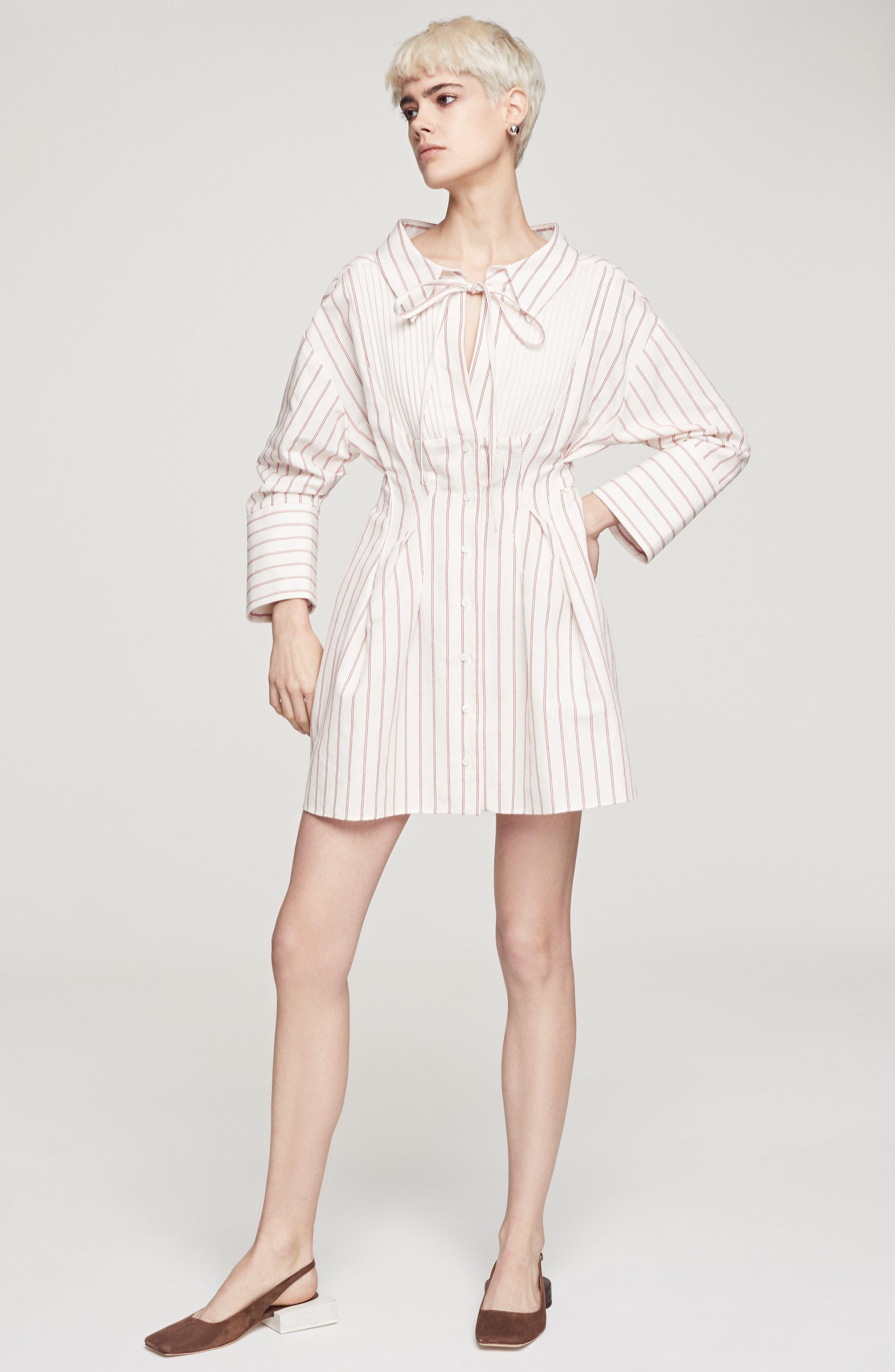 Alternate Image 7  - Jacquemus Arlesienne Shirtdress