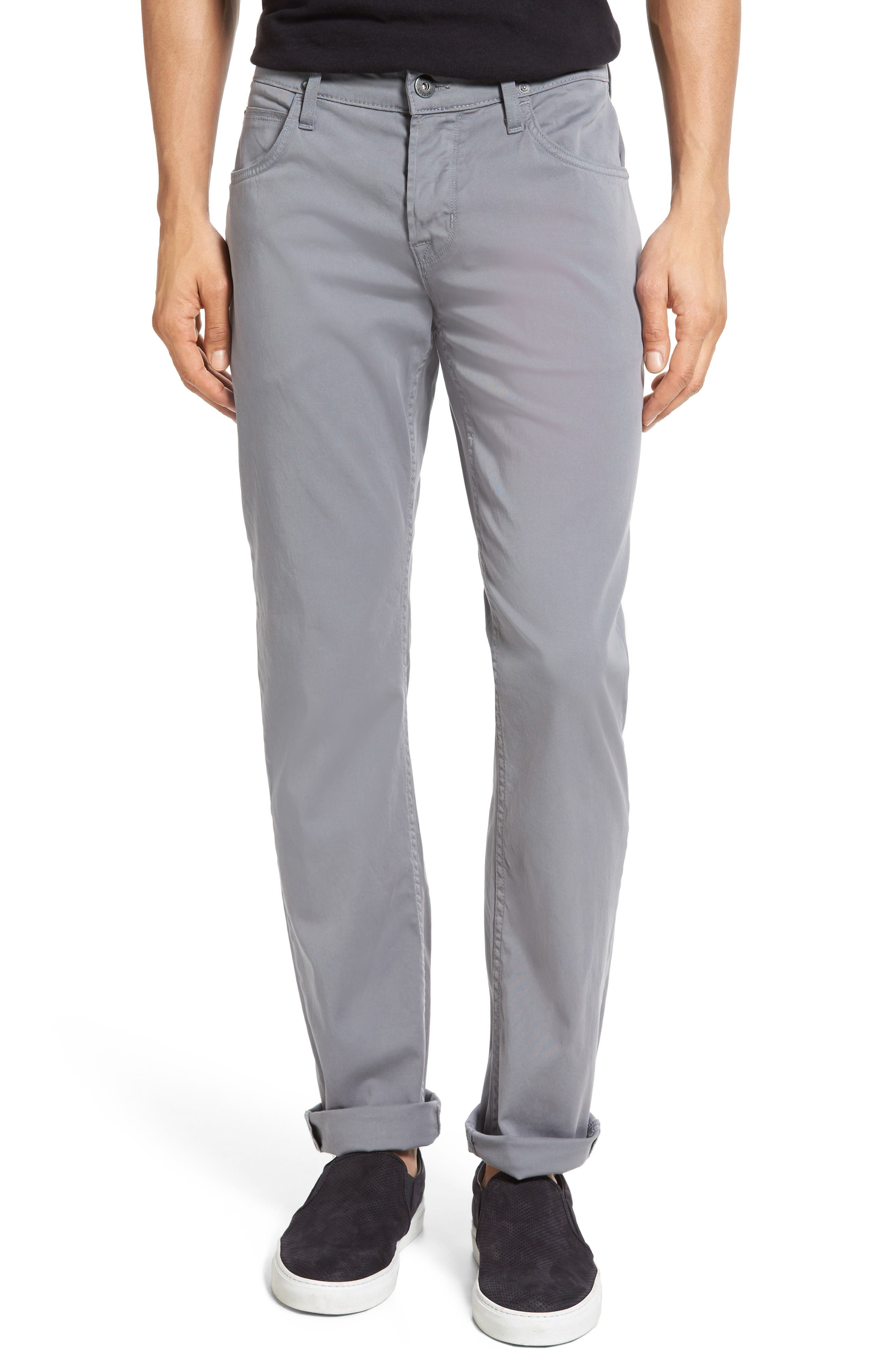 Hudson Slim Straight Leg Pants