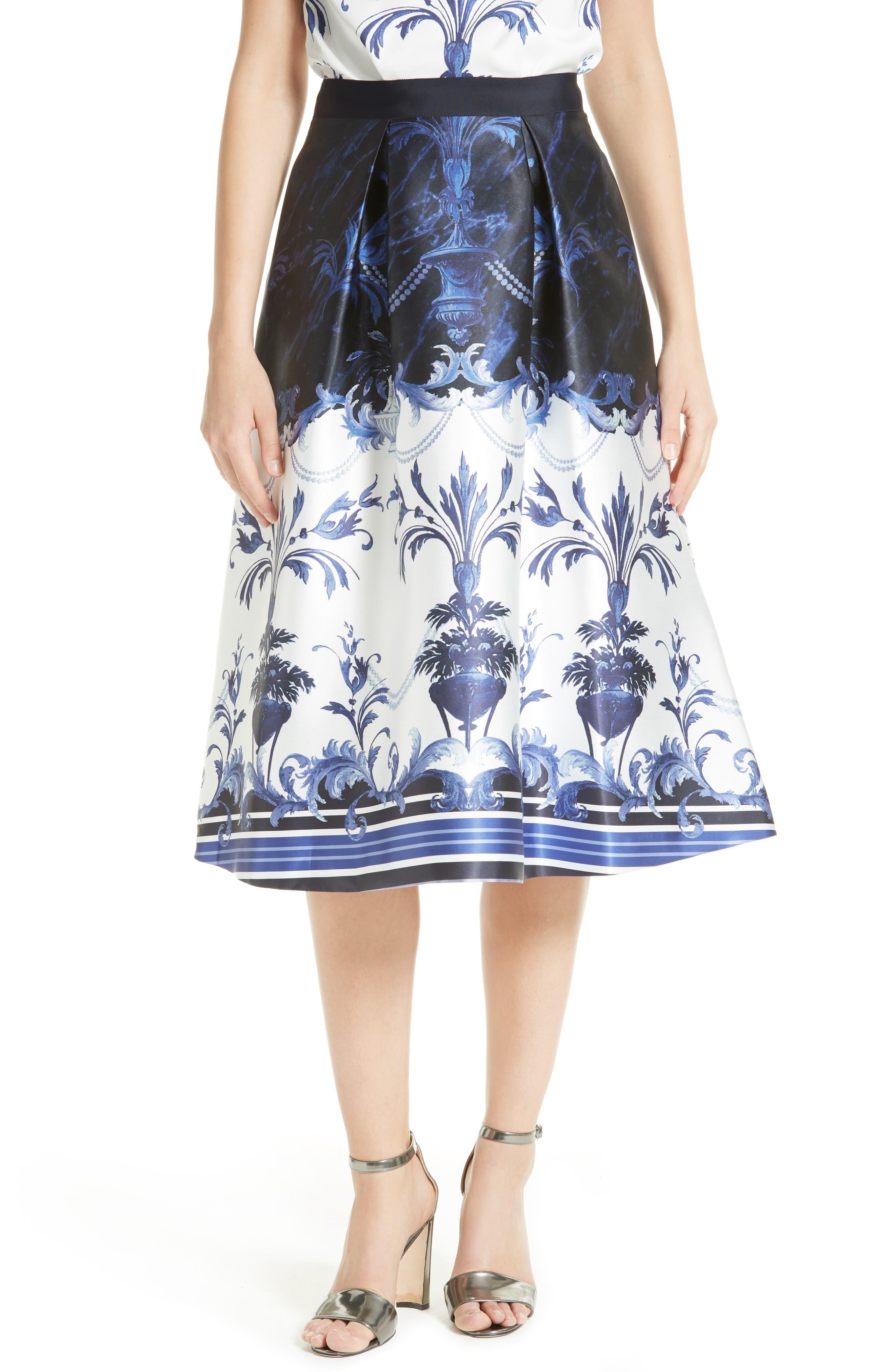 Main Image - Ted Baker London Hunah Full Skirt