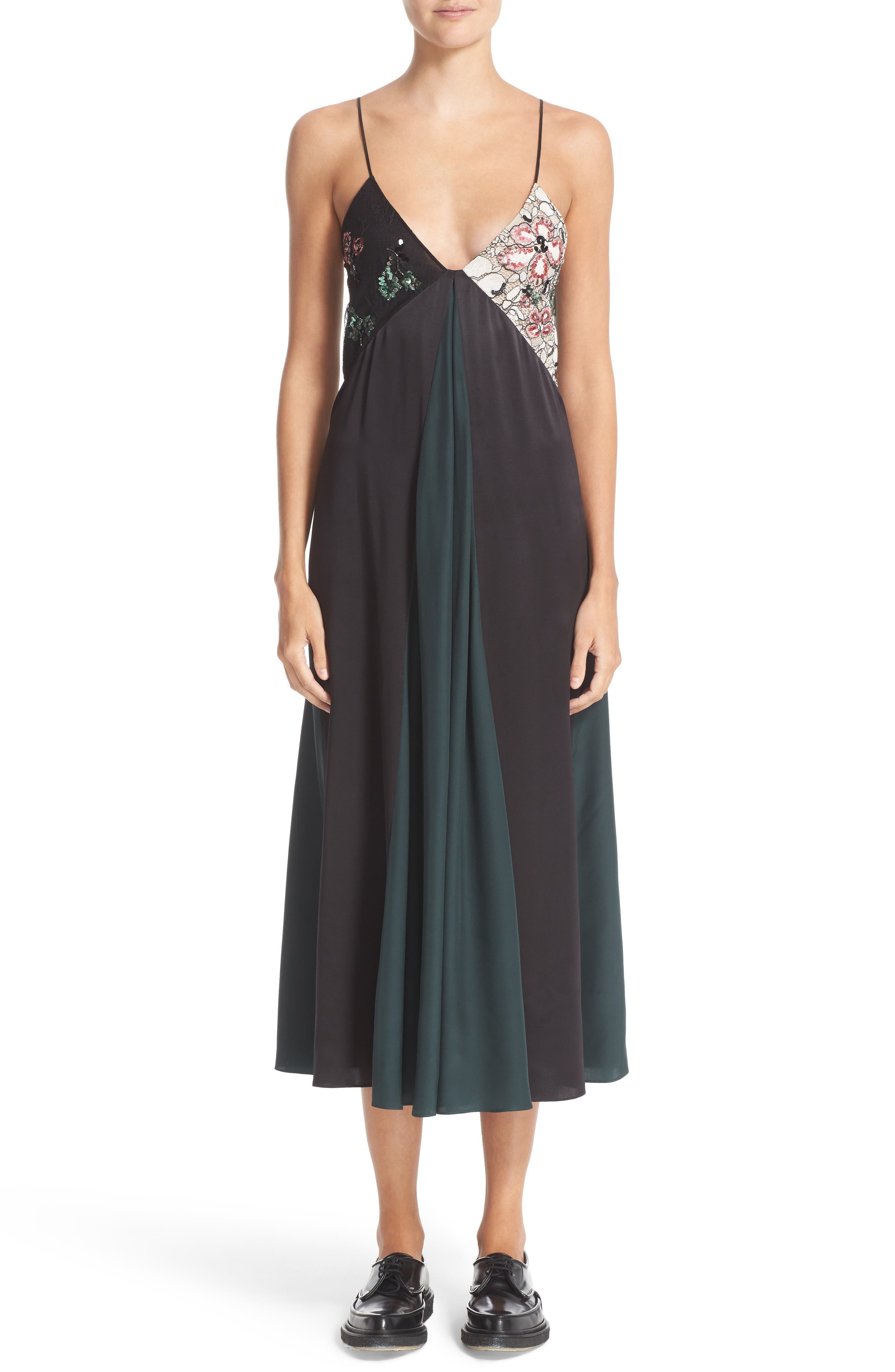 CHRISTOPHER KANE Sequin Camisole Dress