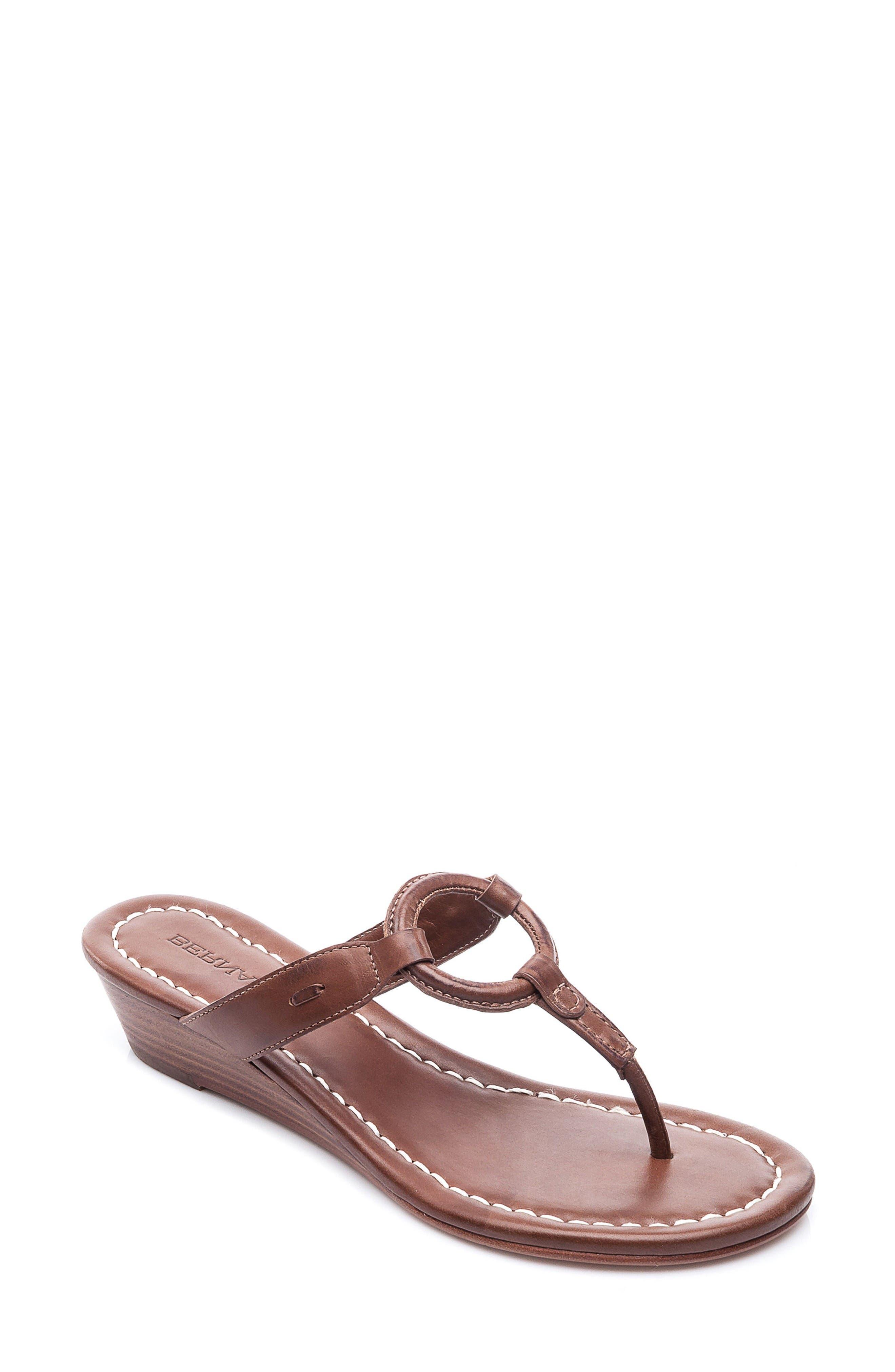 Alternate Image 1 Selected - Bernardo Matrix Wedge Sandal