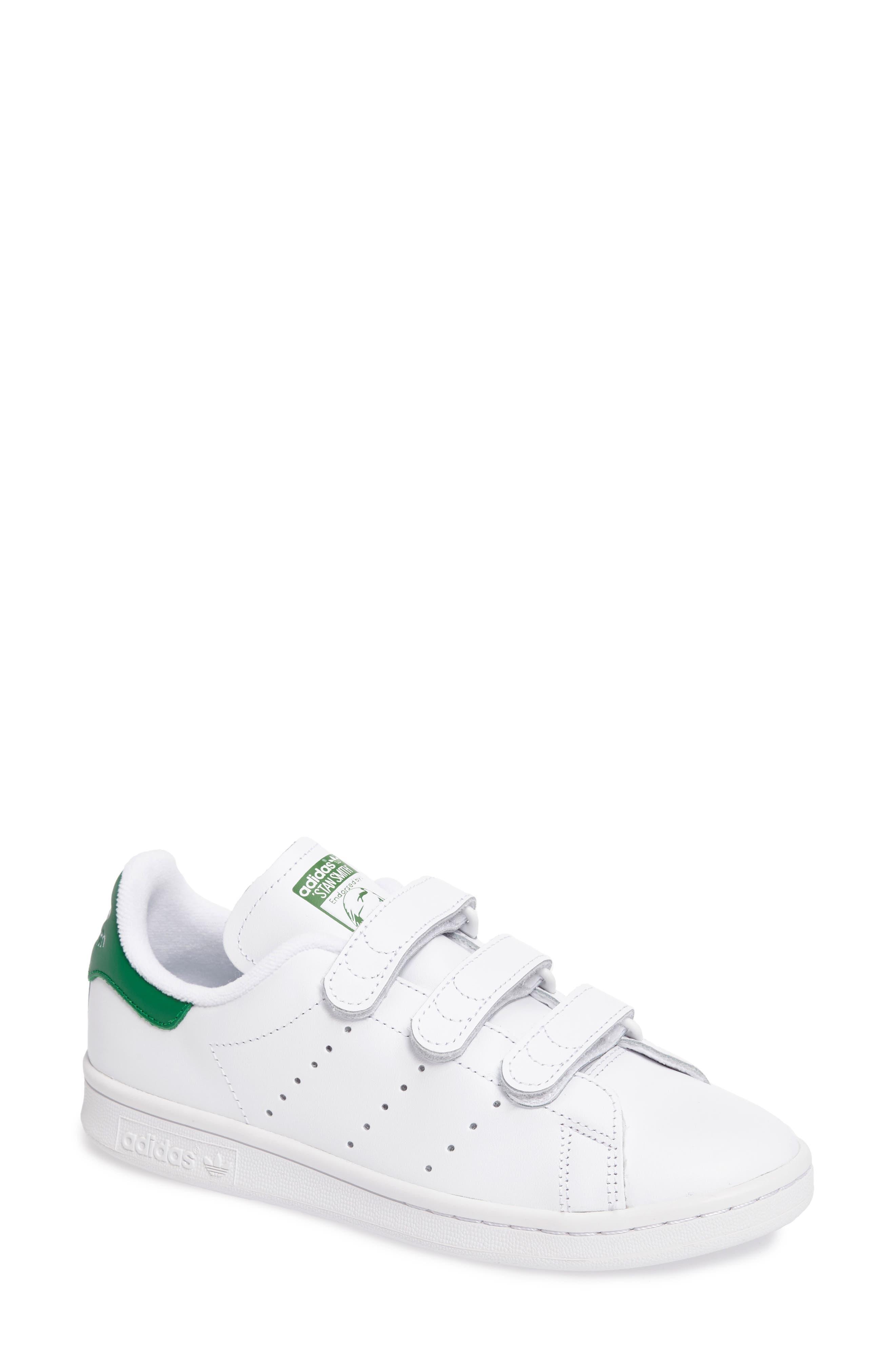 Alternate Image 1 Selected - adidas Stan Smith CF Sneaker (Women)