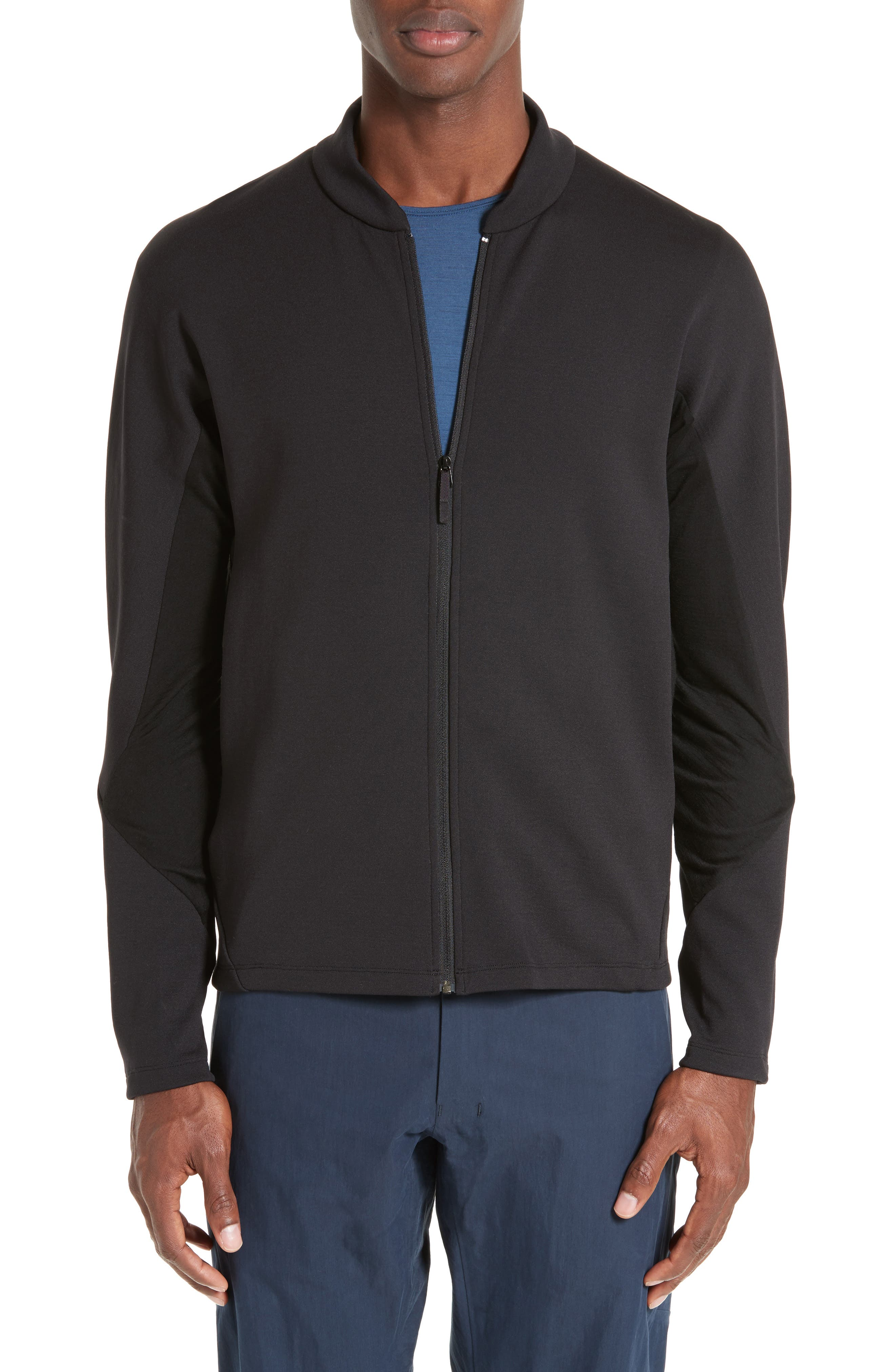 ARC'TERYX VEILANCE Dyadic Wool Blend Zip Front Cardigan