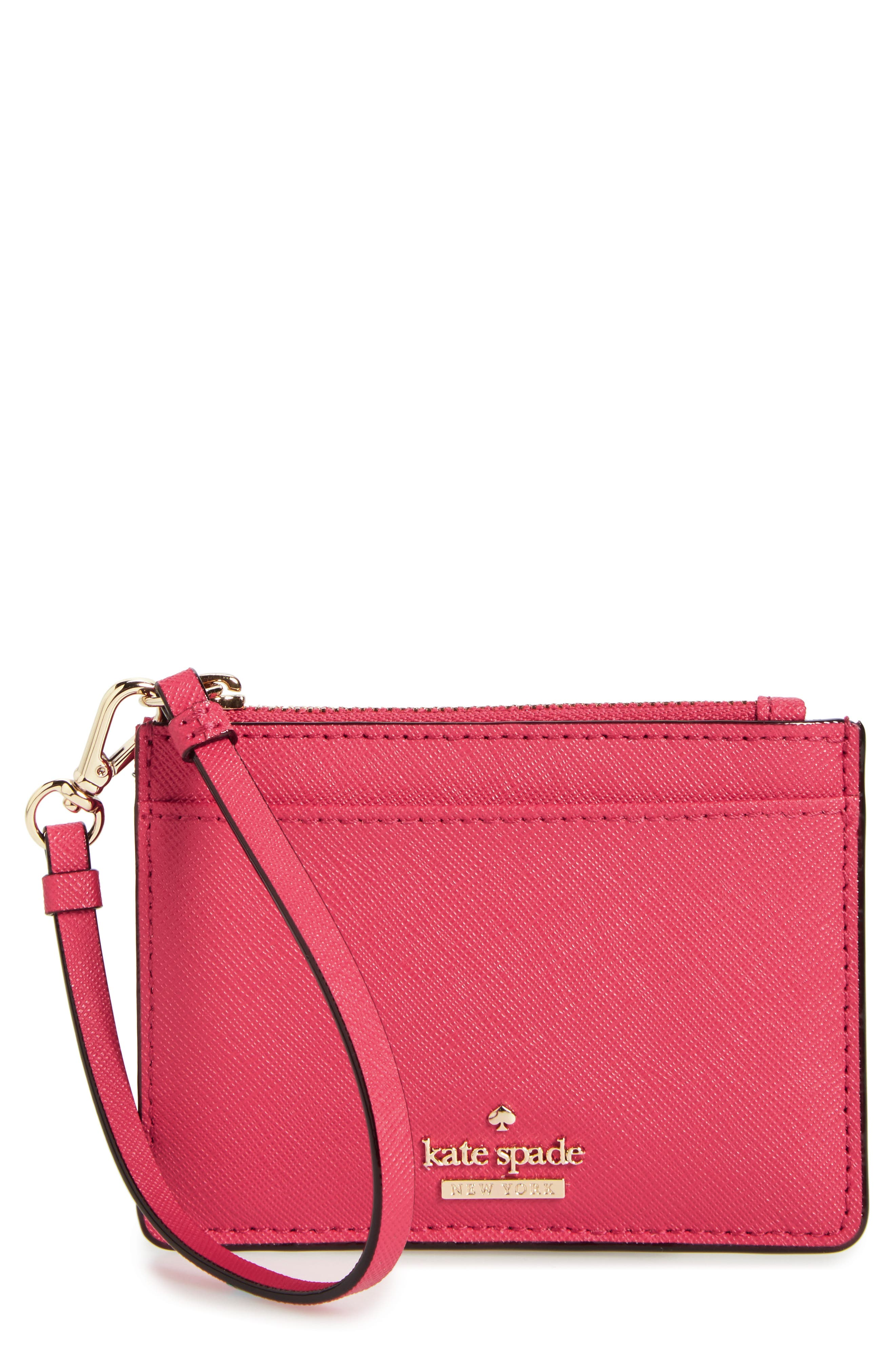Alternate Image 1 Selected - kate spade new york cameron street - mellody leather card case