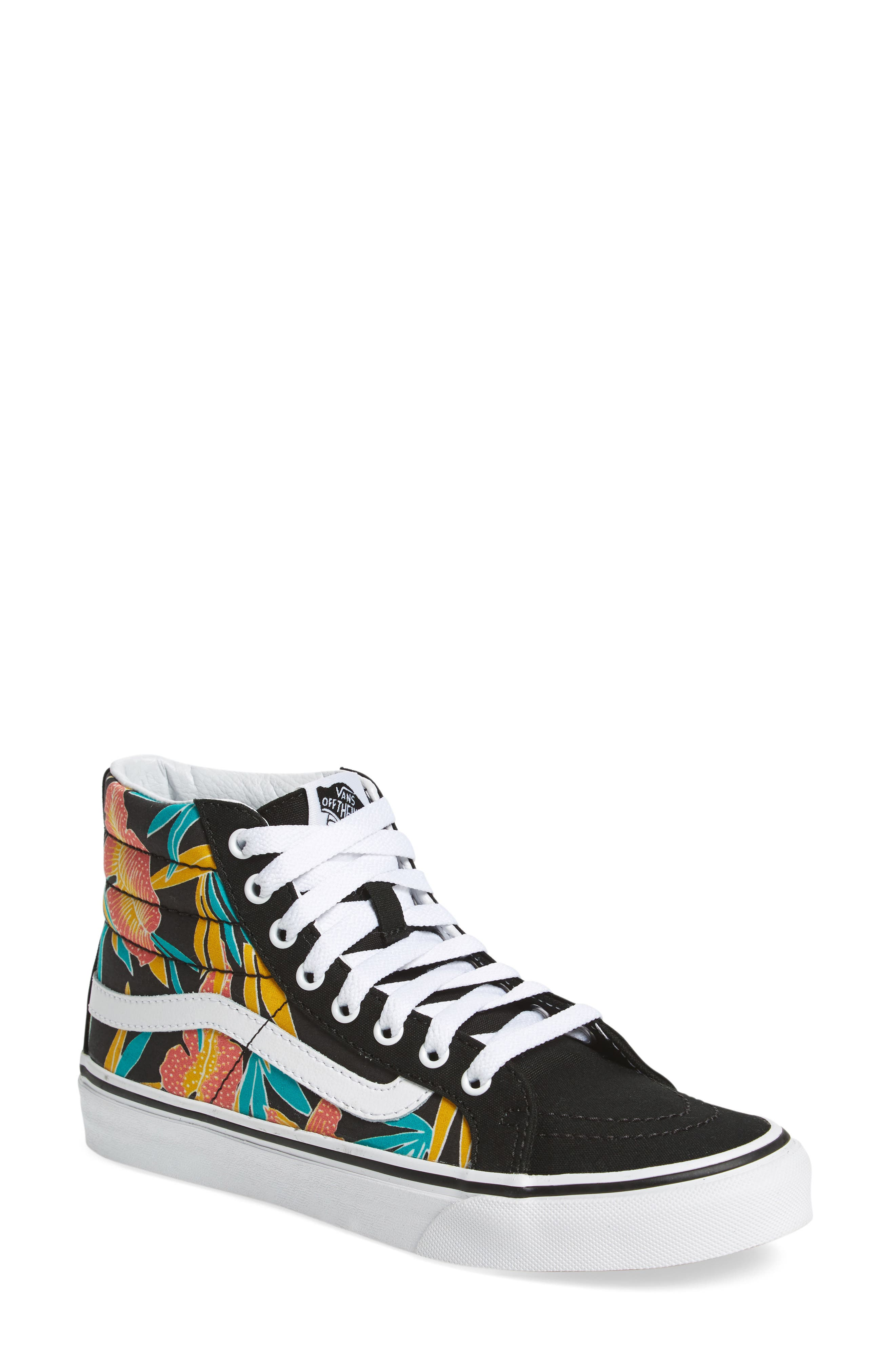 Main Image - Vans Sk8-Hi Slim High Top Sneaker (Women)